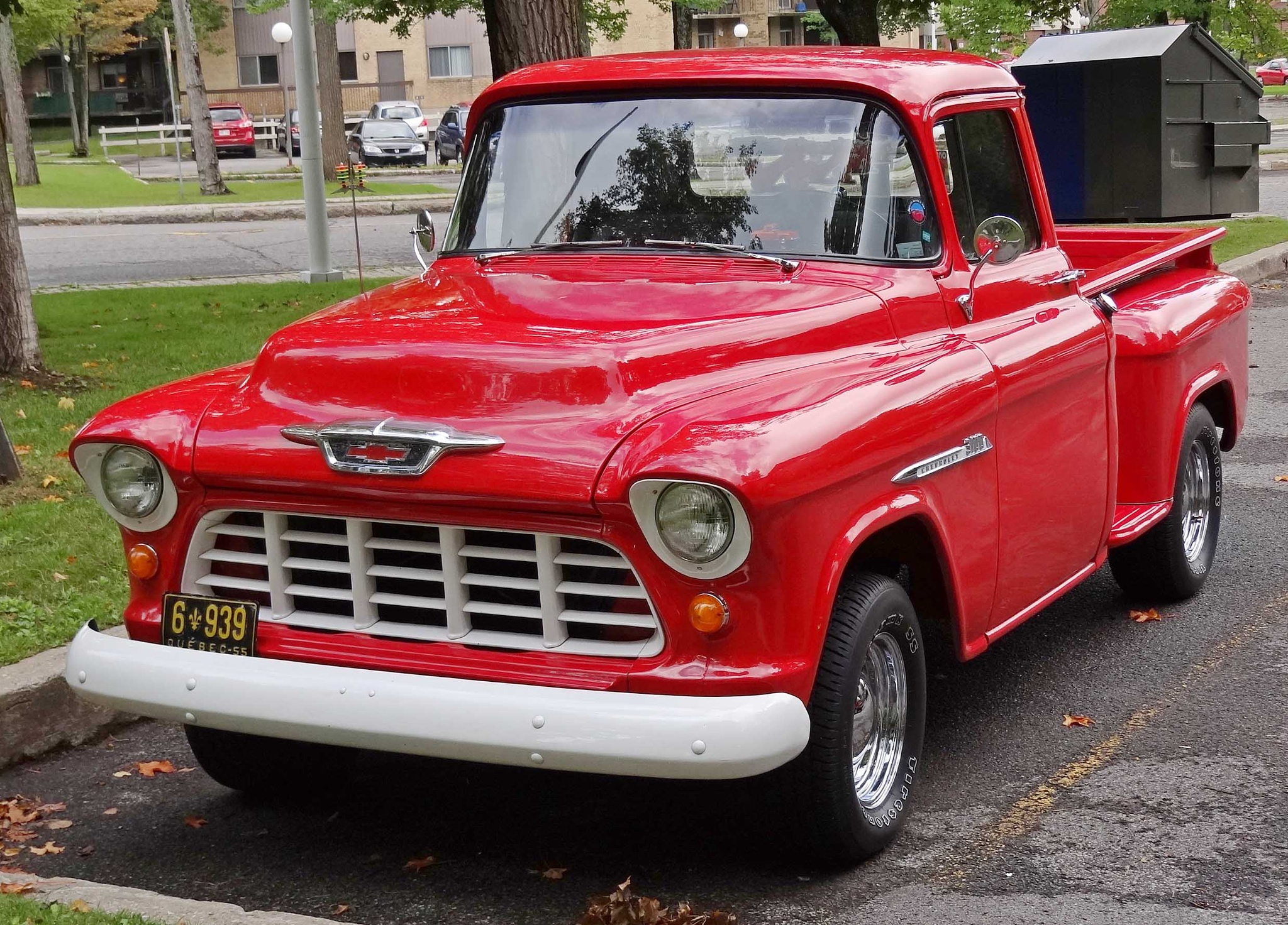 Chevrolet 3100 1955 by Jacques Trempe
