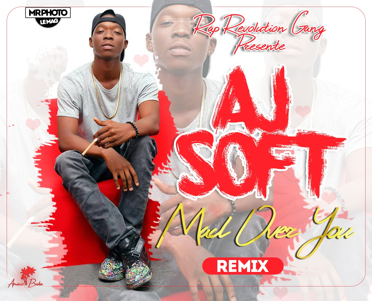 AJ SOFT - MAD OVER YOU (remix) by Anisco Baka