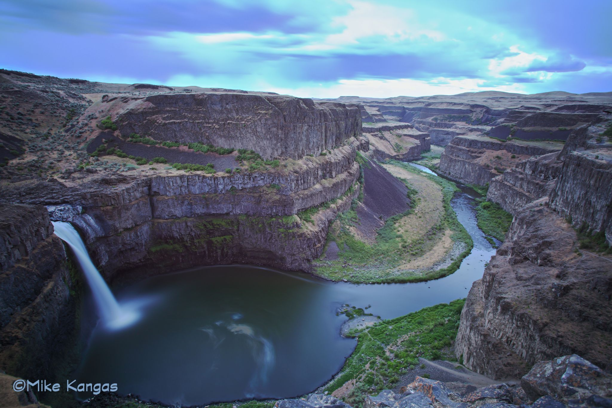 Palouse Falls Washington by mikekangas