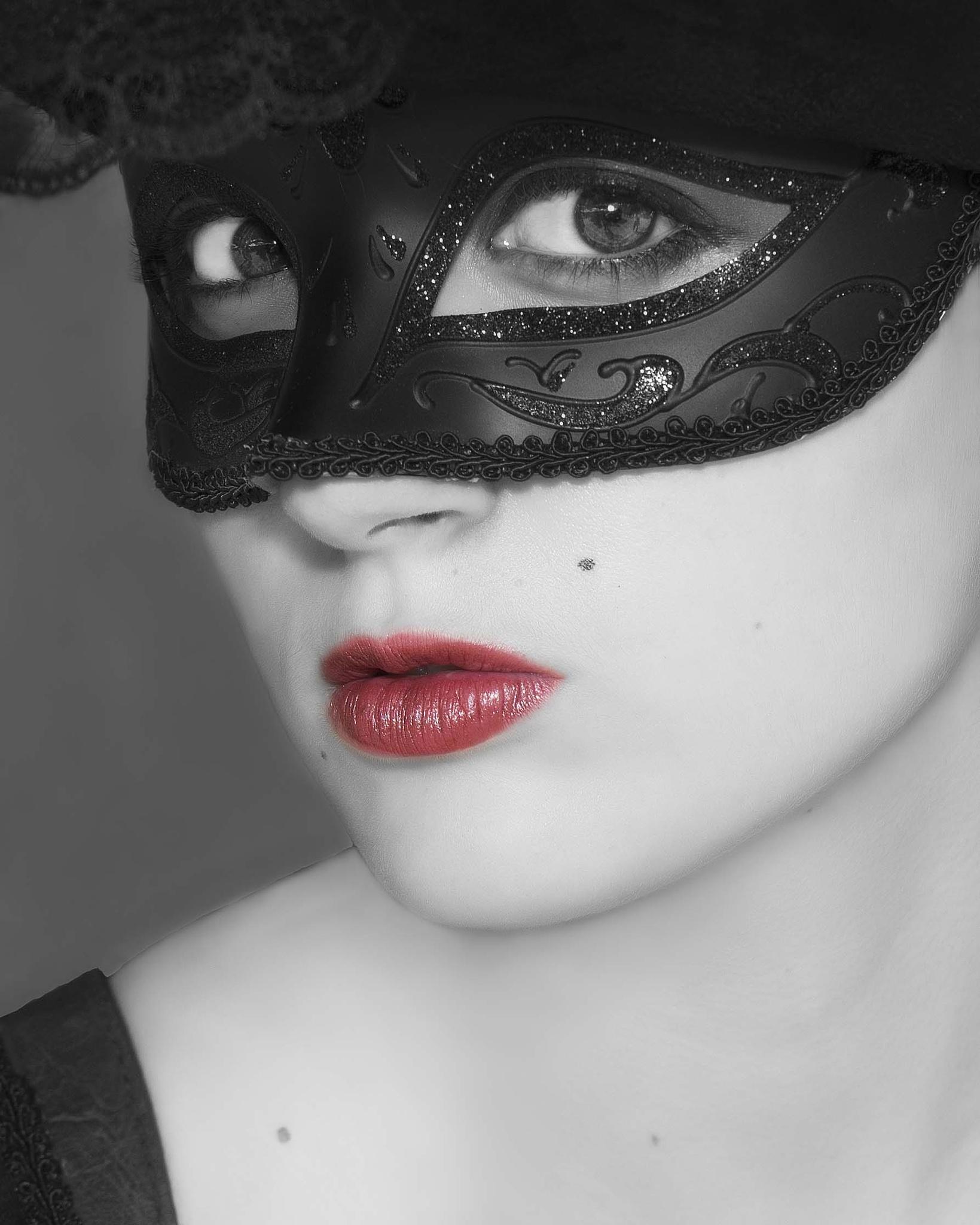 Masquerade Closeup by Scott Allen