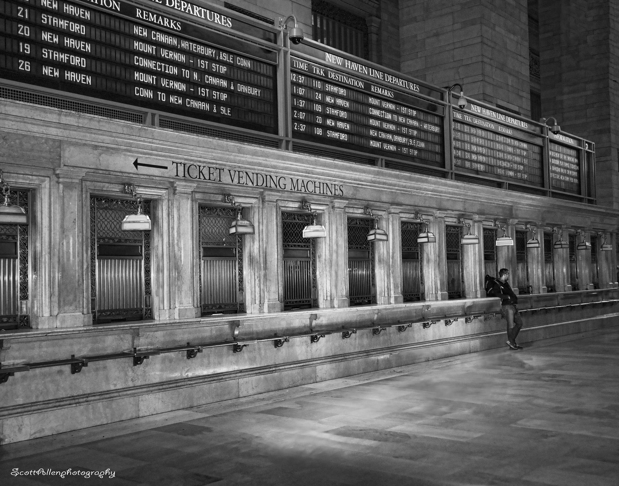 Waiting For The Next Train by Scott Allen