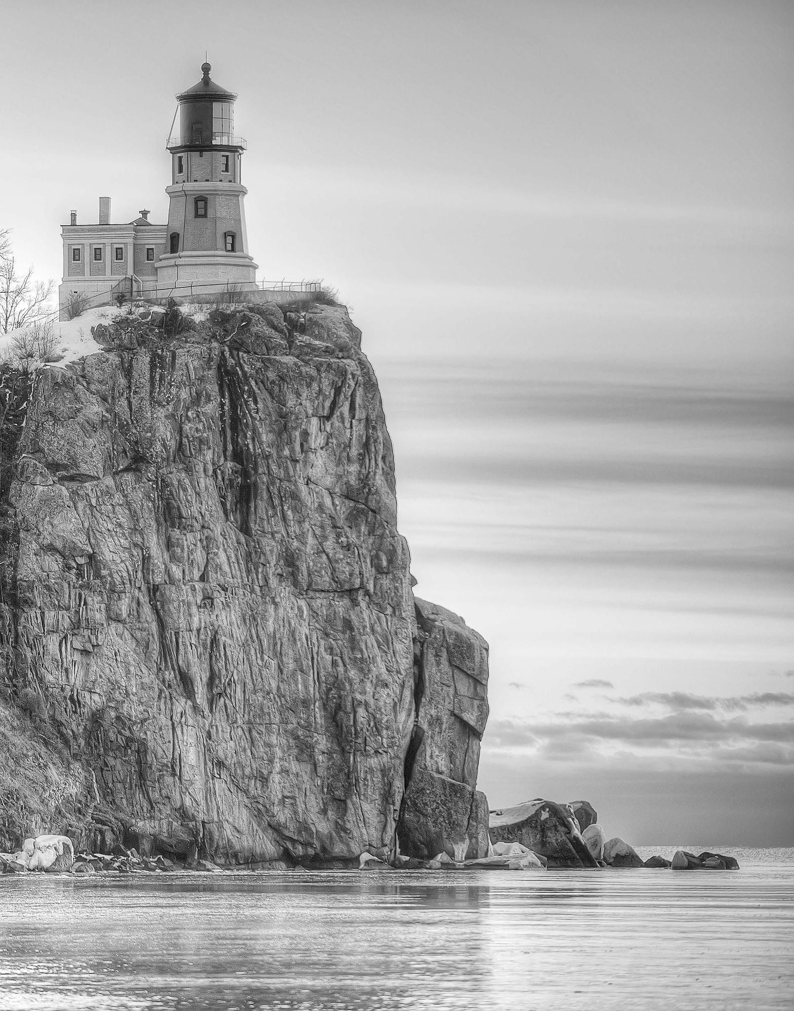 Sunrise @ Split Rock Lighthouse by Scott Allen