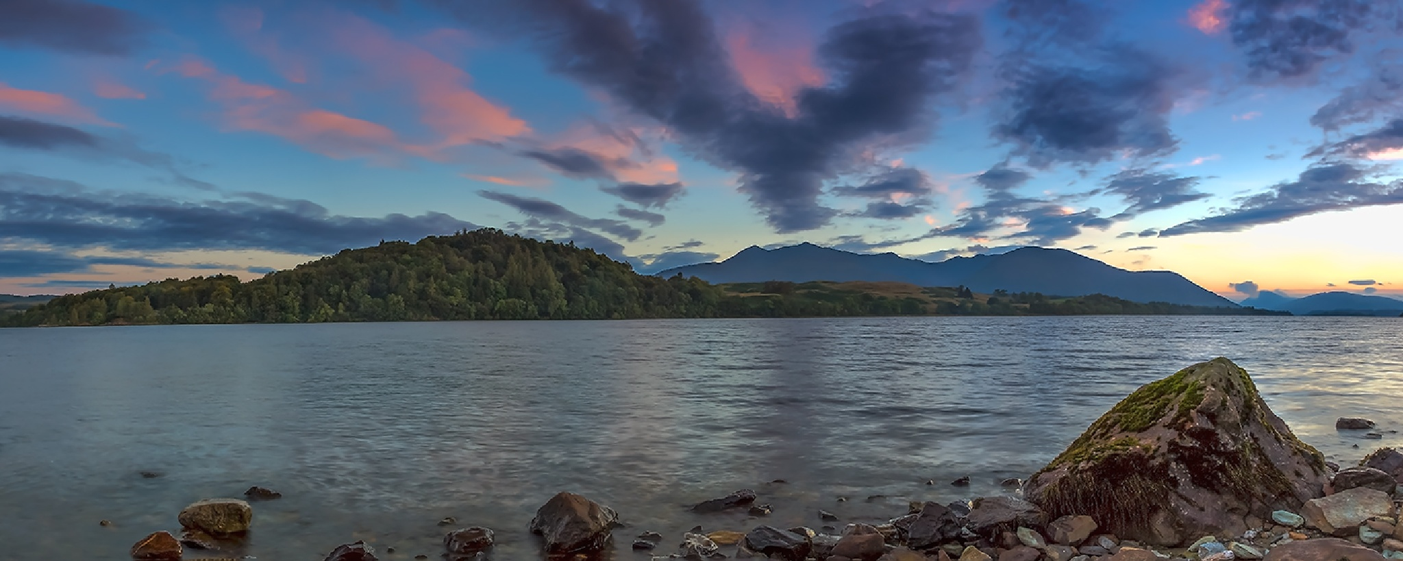 Loch Awe Panoramic by AndyGough