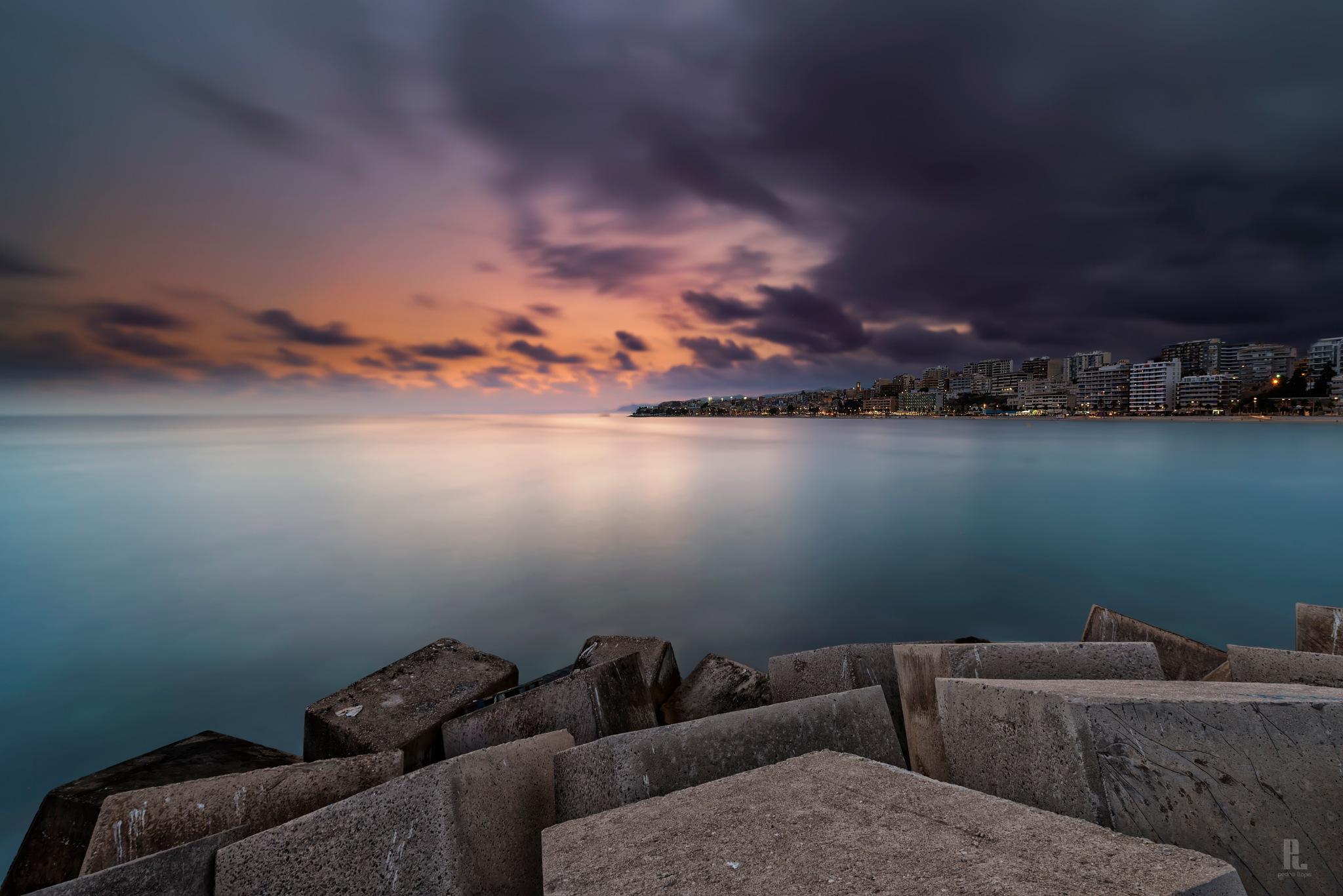 Desde el puerto by Pedro Llopis