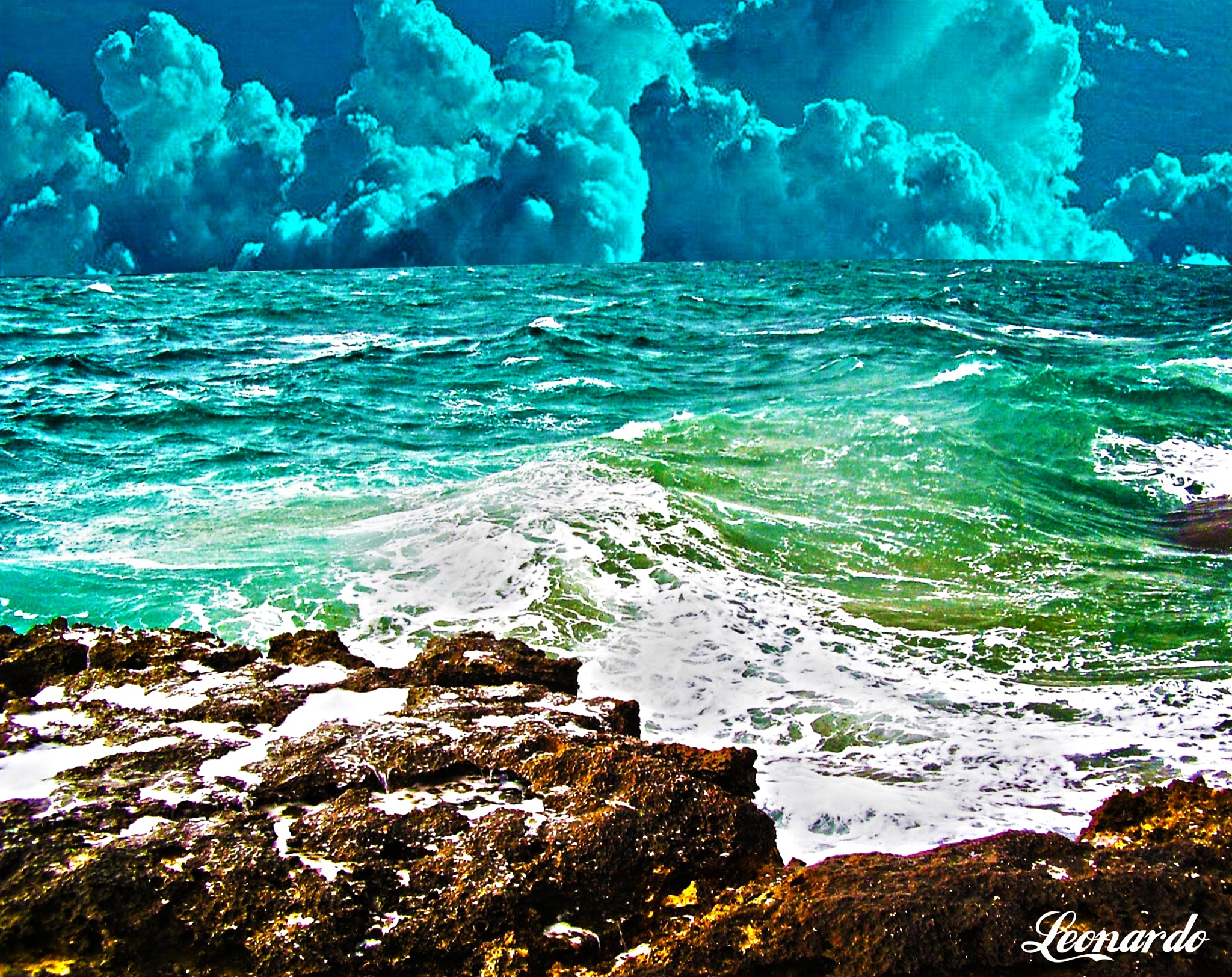 The sea is the voice of the heart by gravinall
