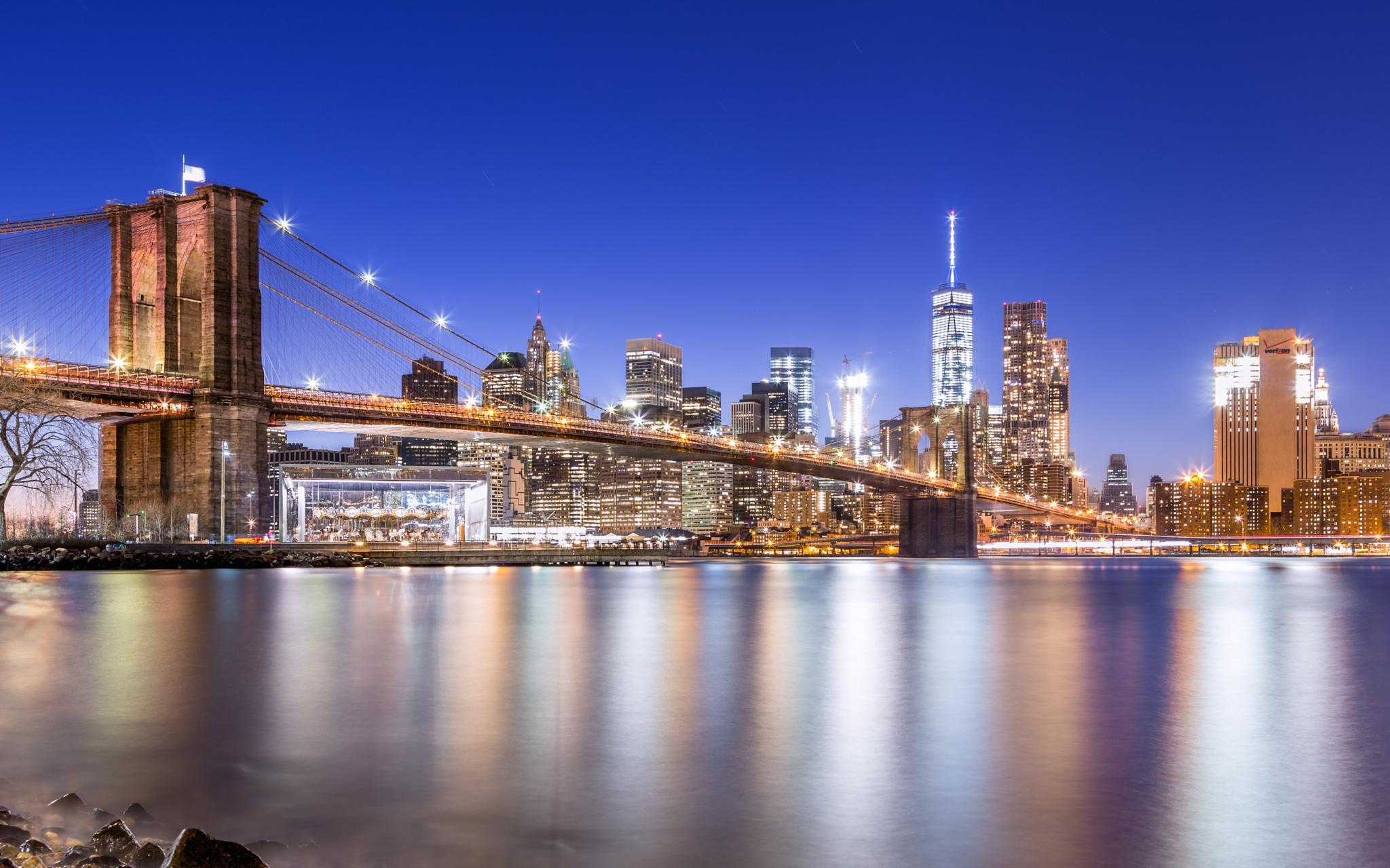 Brooklyn Bridge by Hameed S