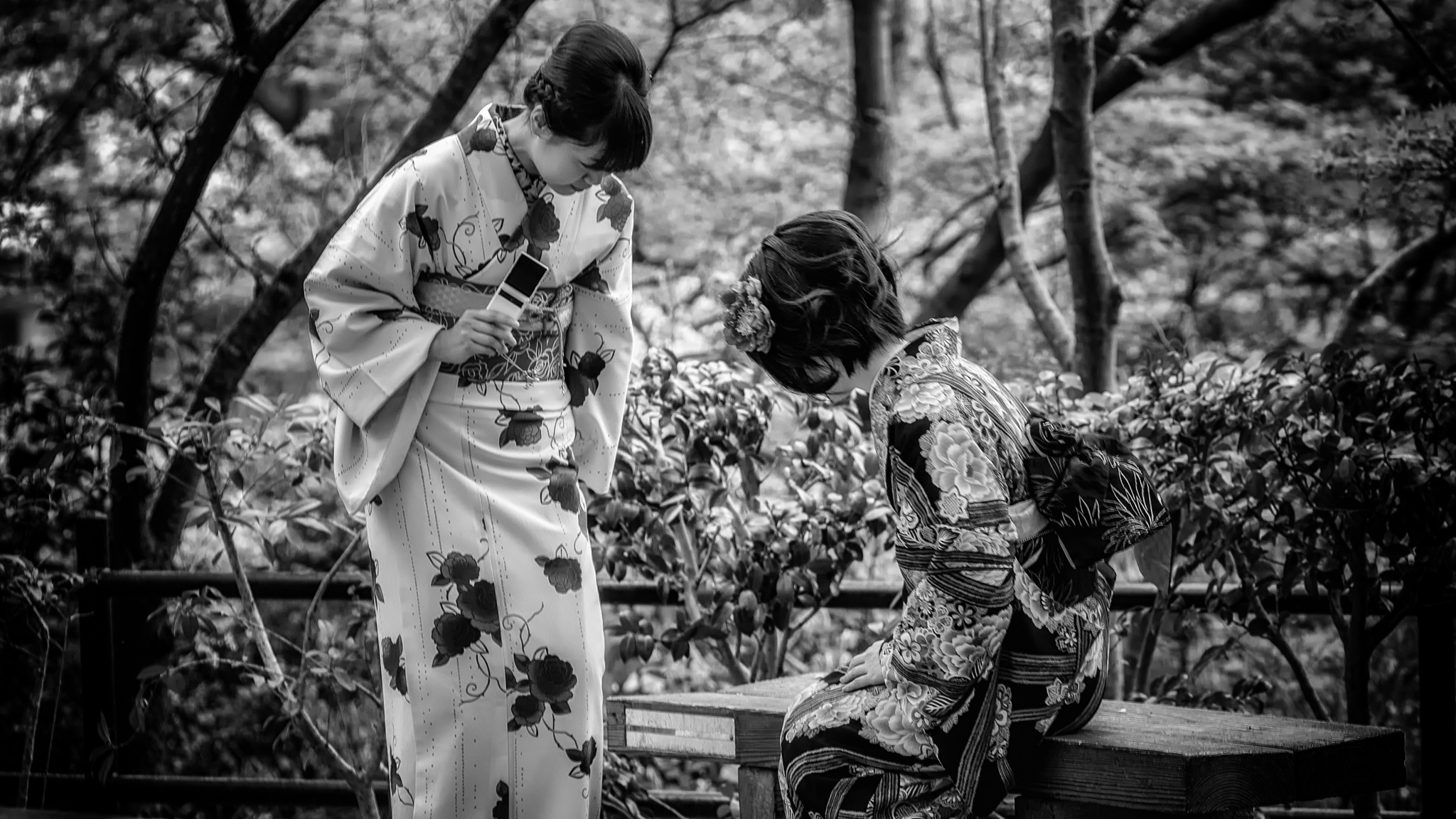 Old Meets New in Japan by Hameed S