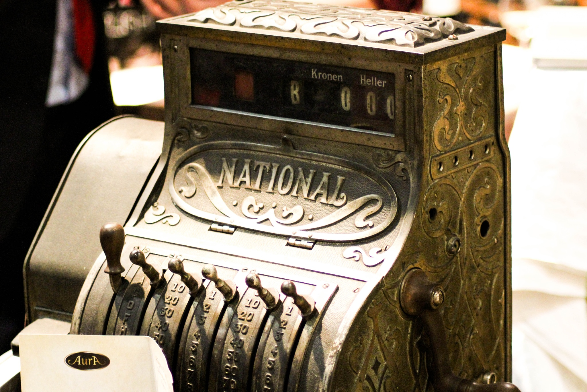 Old Cash Register by Andy Fenz