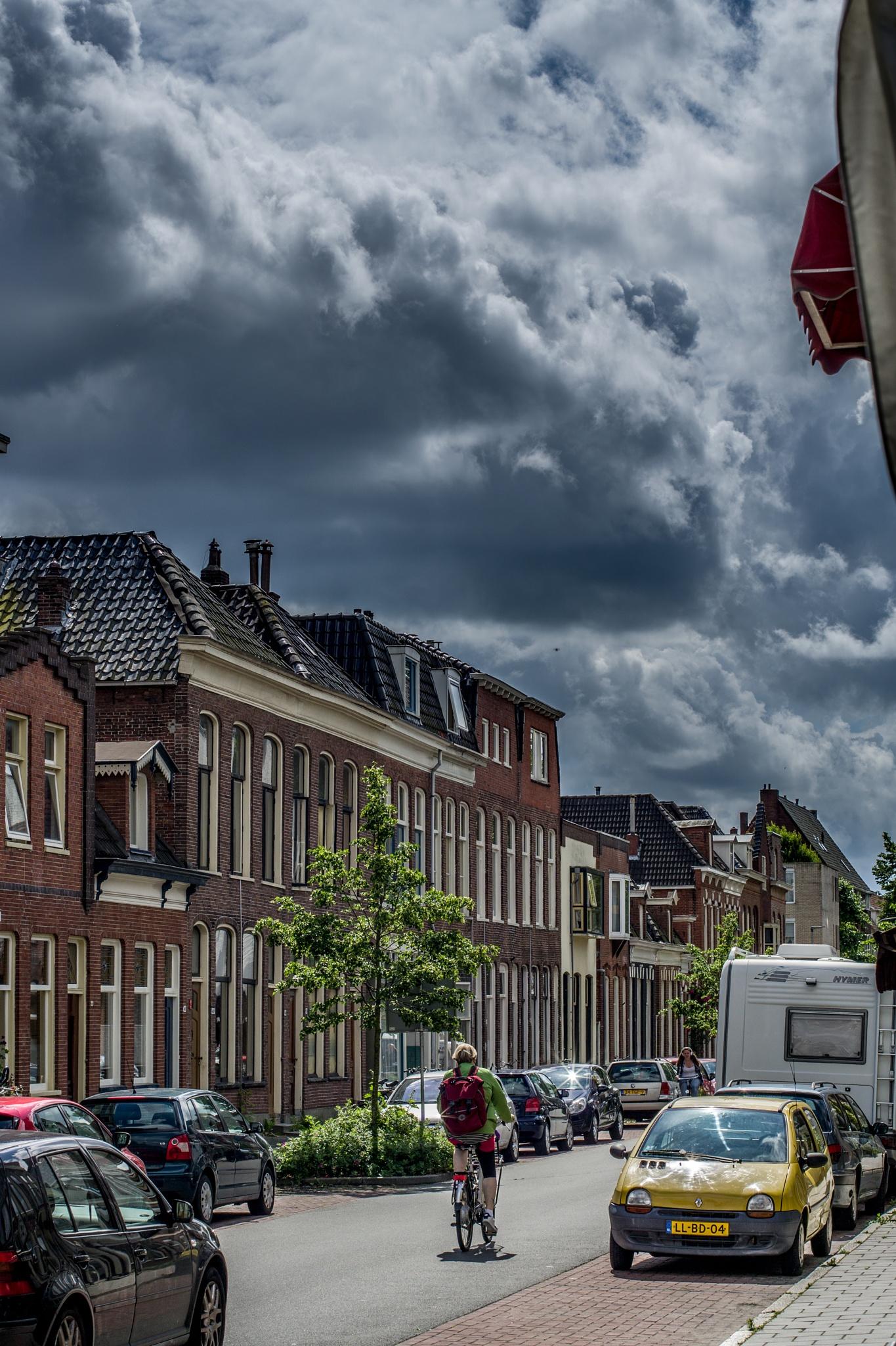 Just before the storm by Joop Nijhof