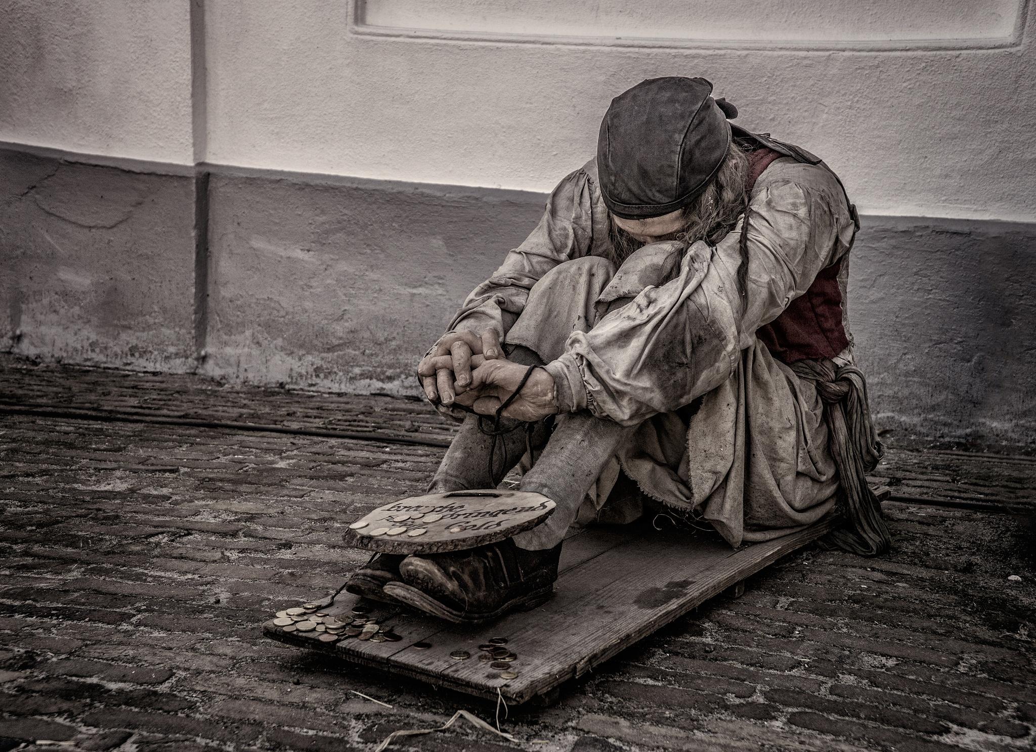 Homeless by Joop Nijhof