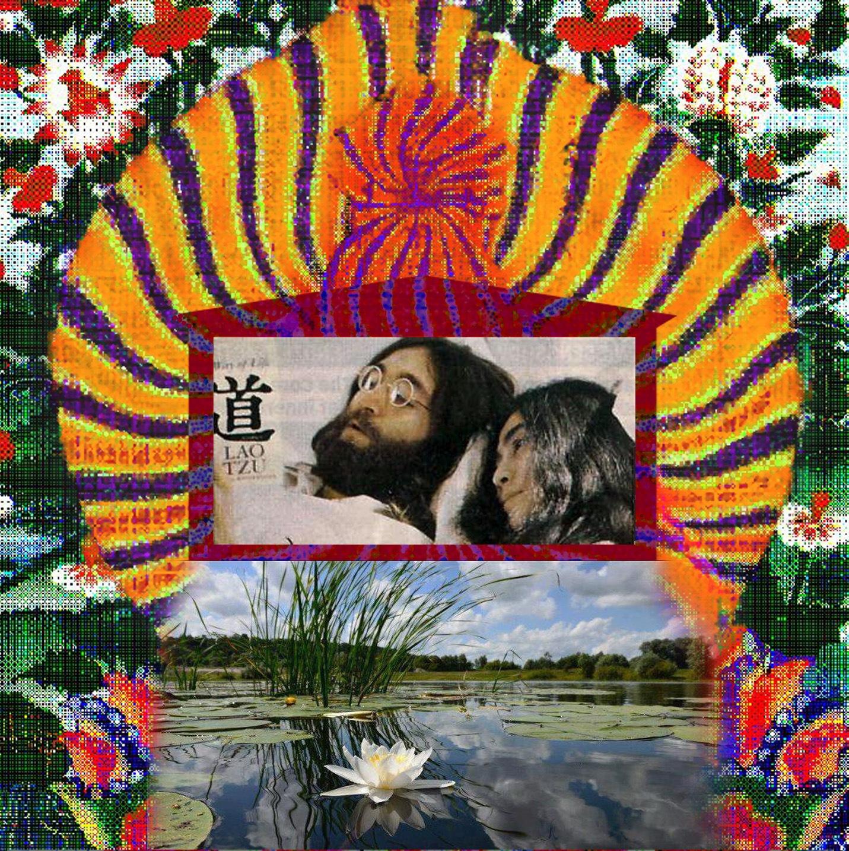 Lennon, Ono, Peace -Kollage by astarot