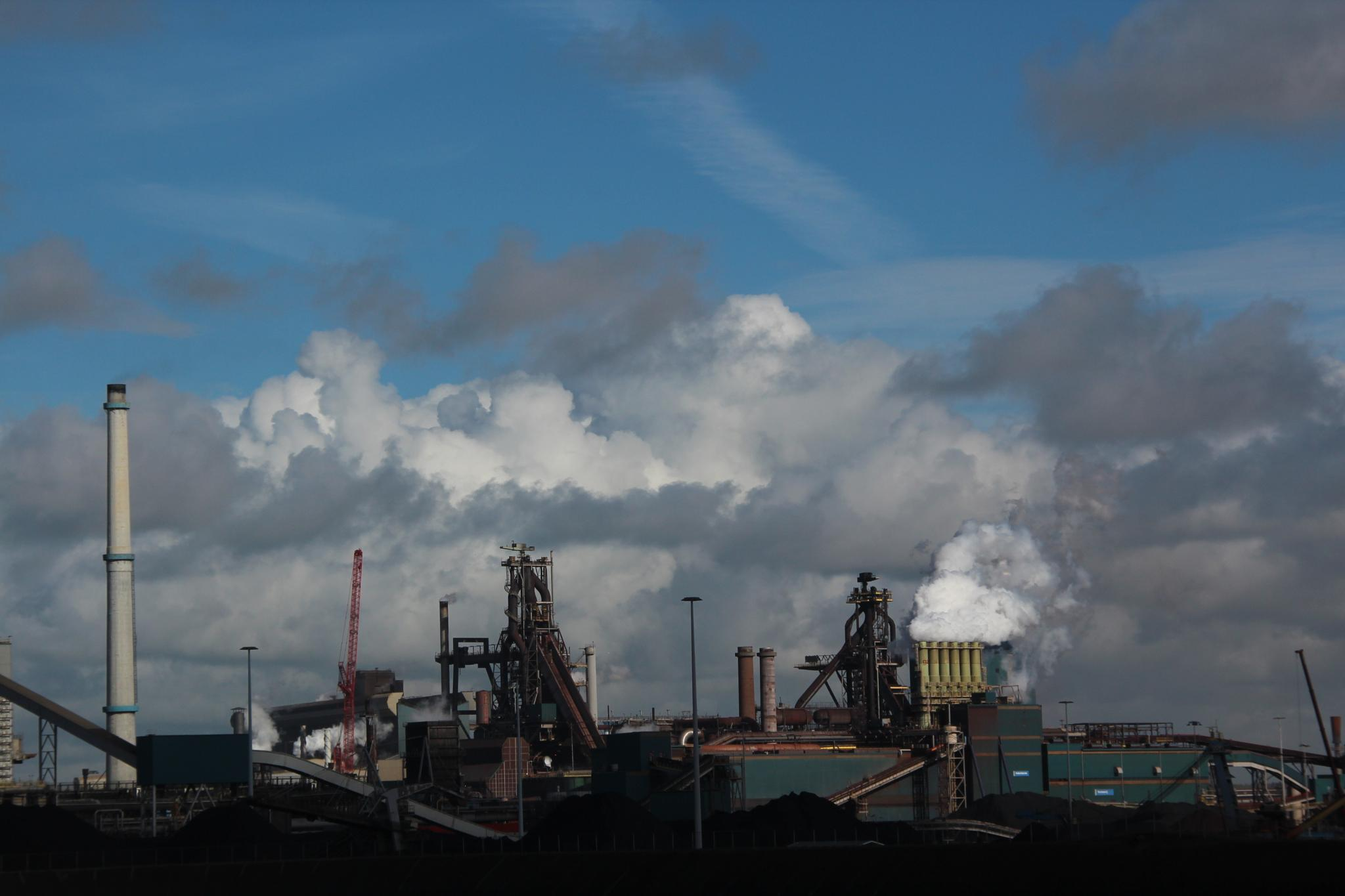 TATA Steel plant, Velsen, Holland by Henk de Groot