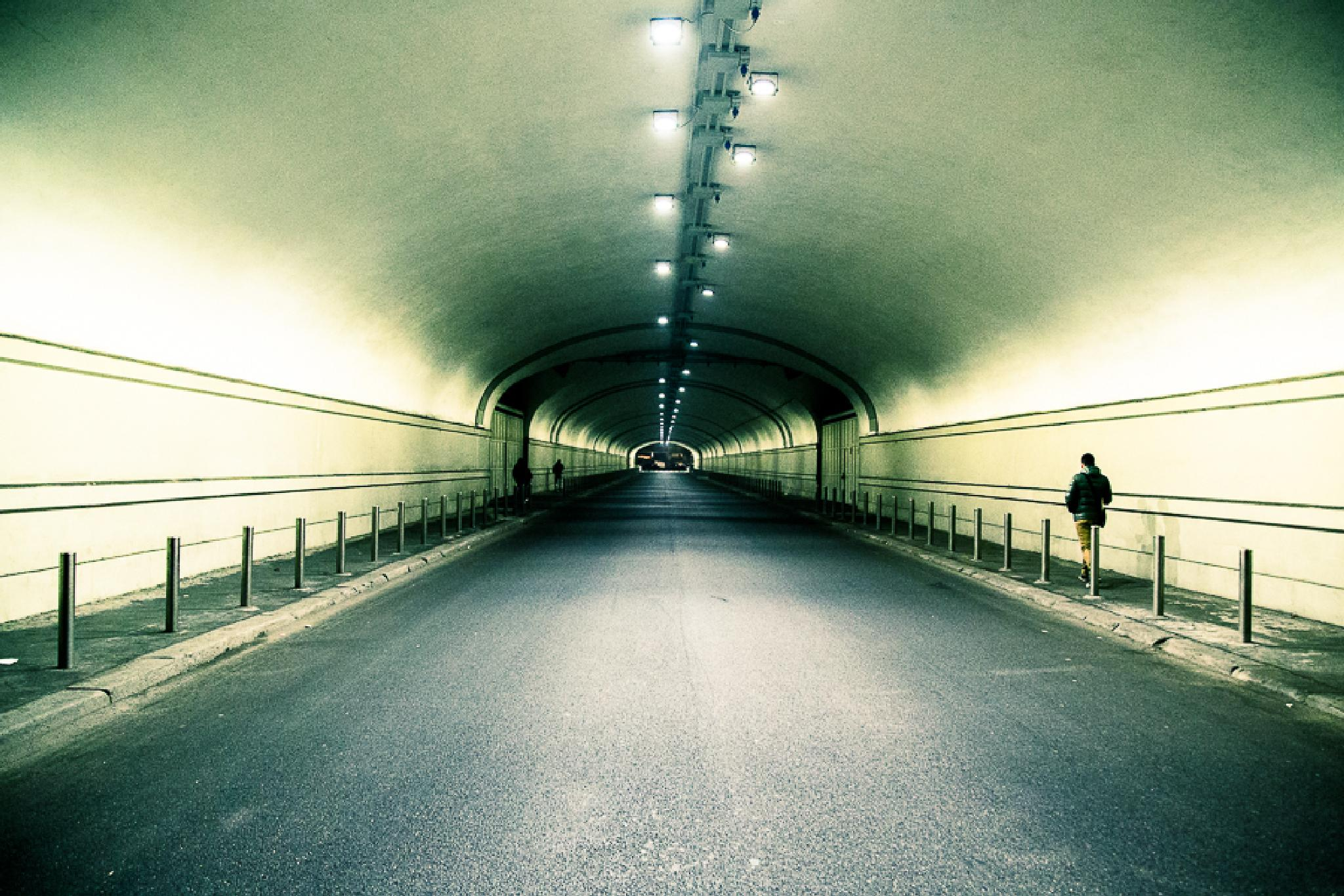 tunnel by claudio naboni