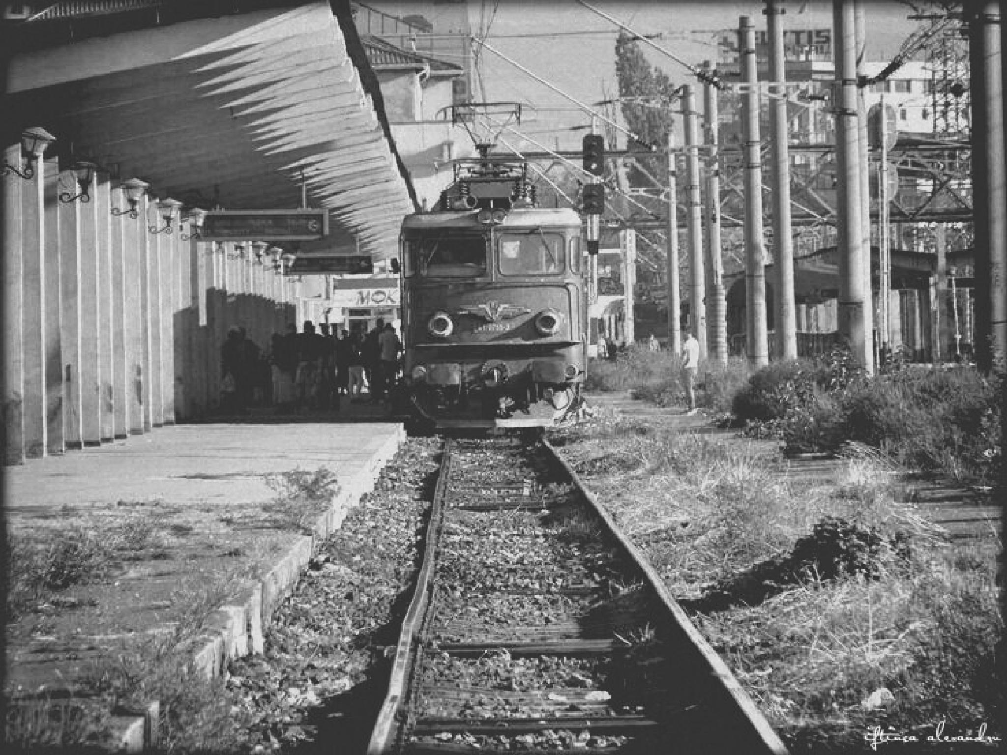 train station by iftincaalexandru