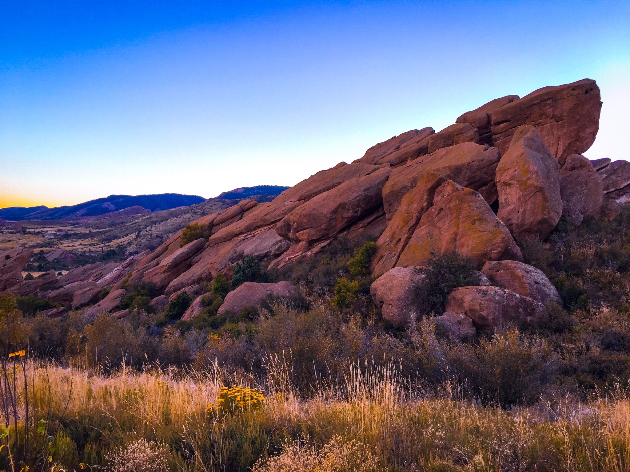 In The Boulder Summit by JANorlin Photography