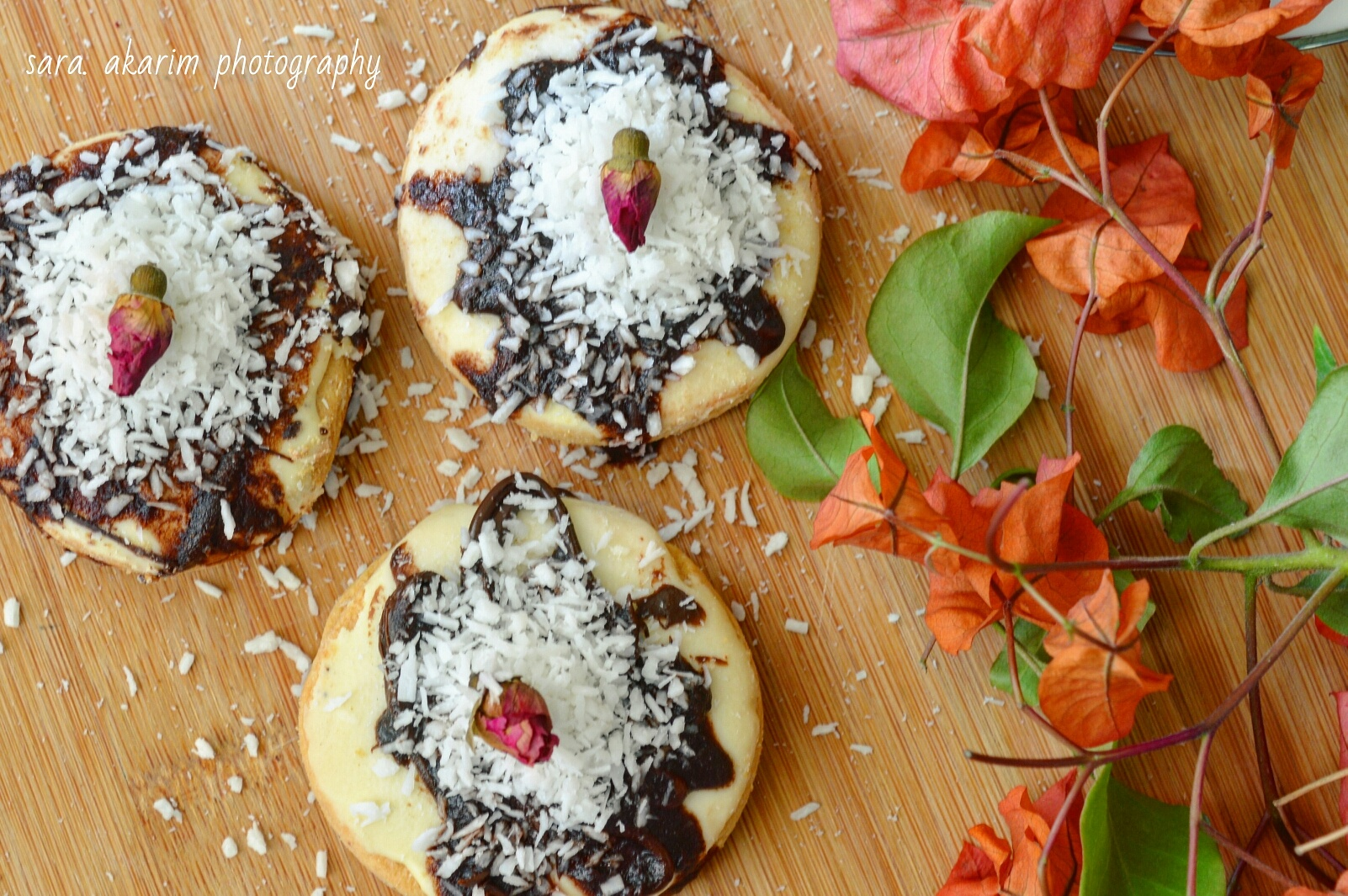 Biscuits with chocolate and coconut by Sara Abdelkarim