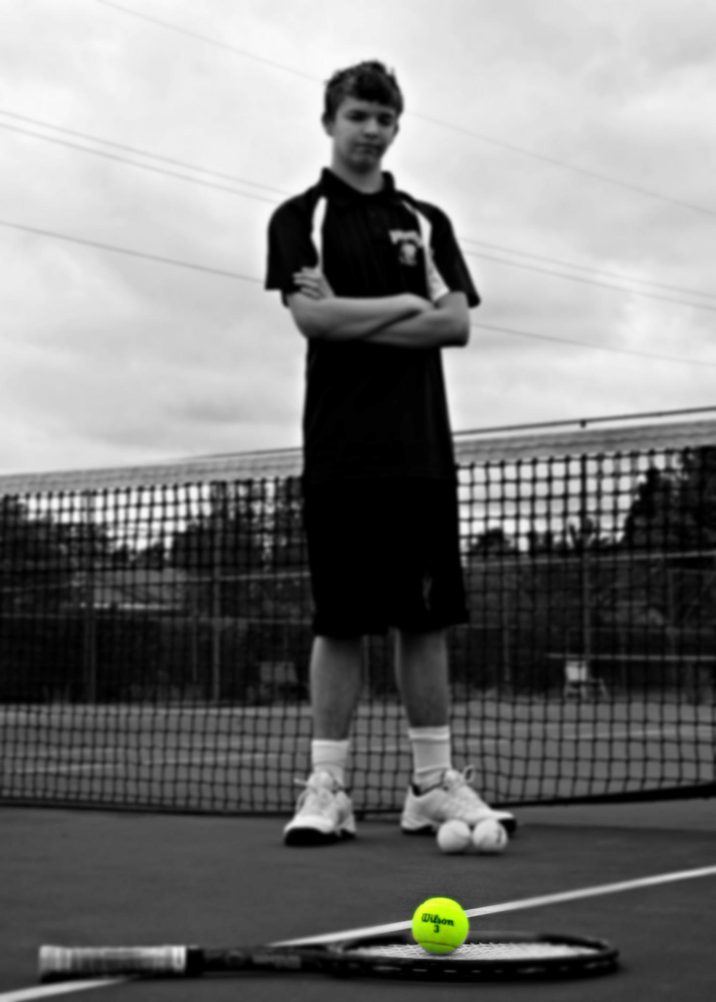 Tennis anyone? by TrishaWeltz