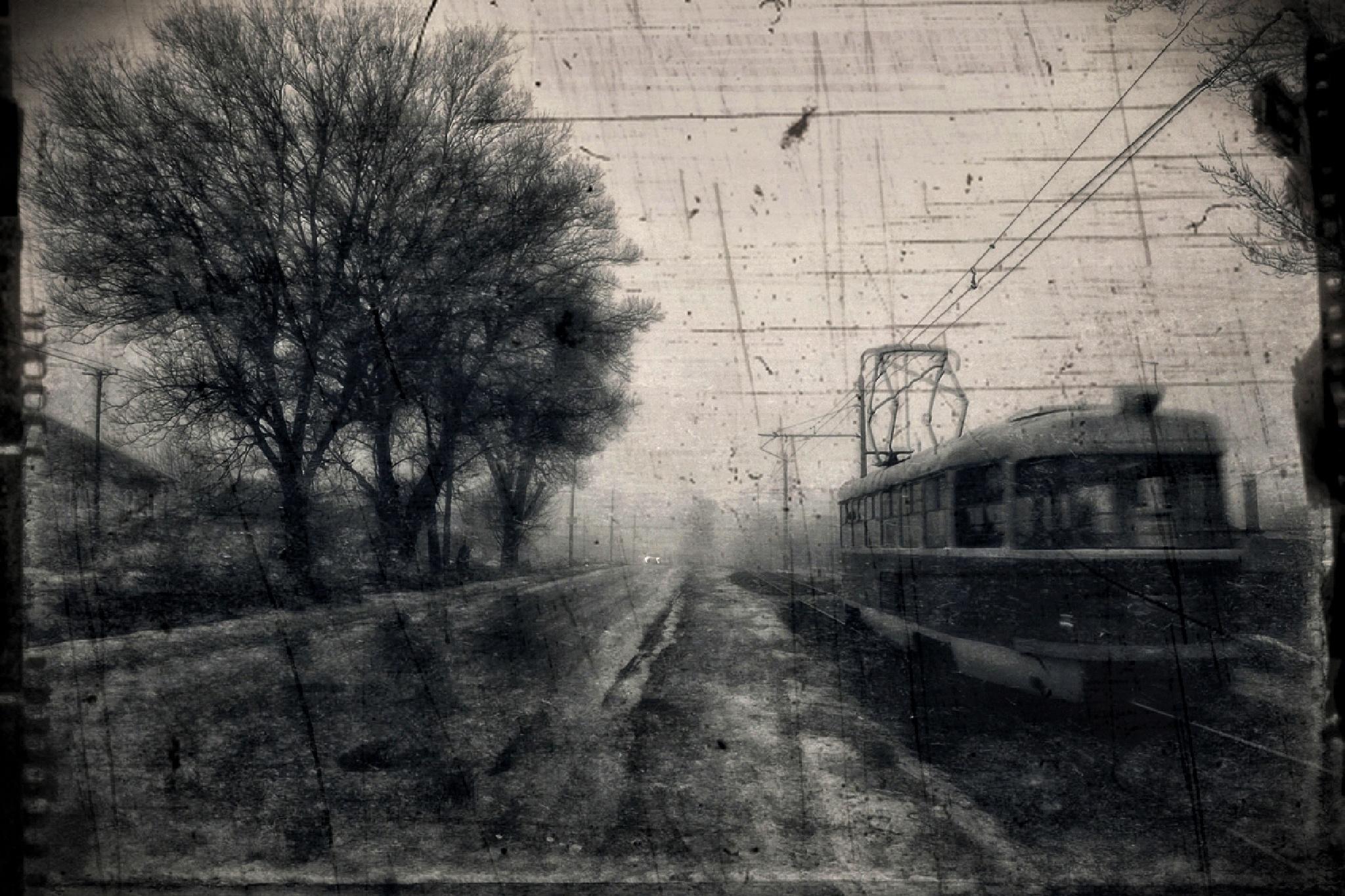 first tram by Bobbyus