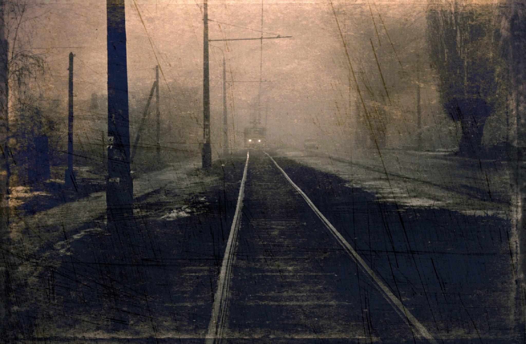 Early tram by Bobbyus