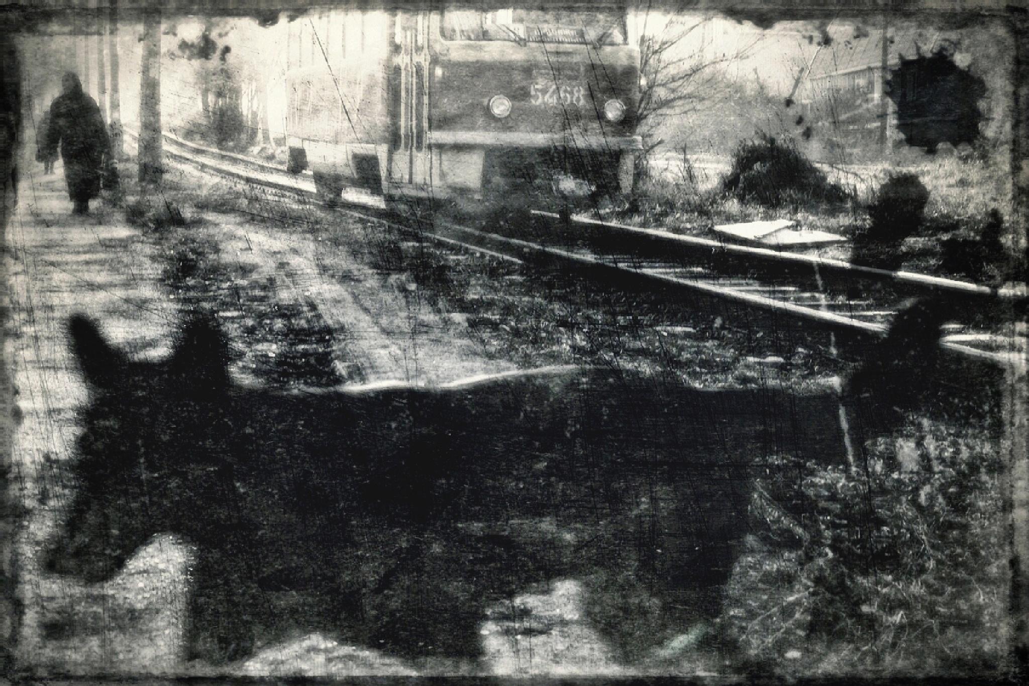 old tram by Bobbyus