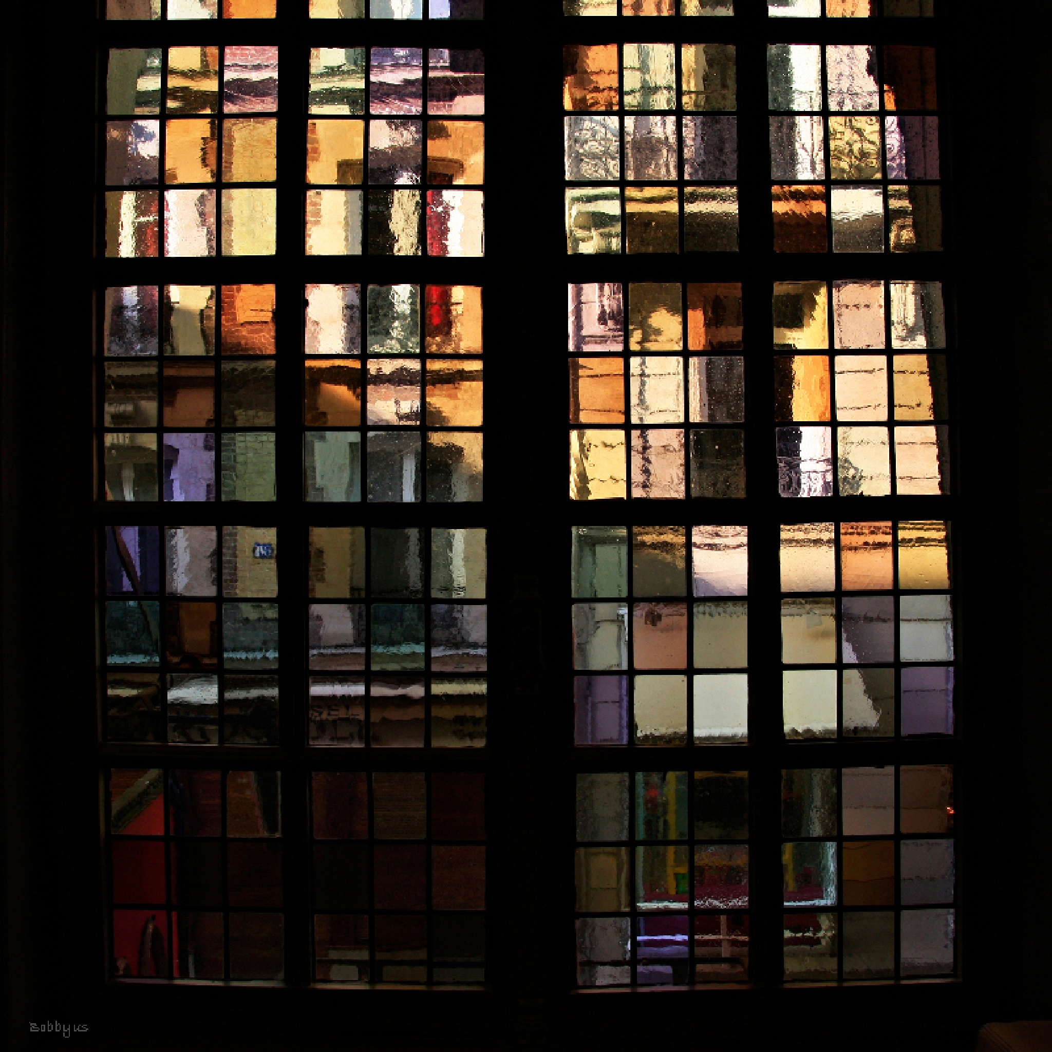 Stained glass window by Bobbyus