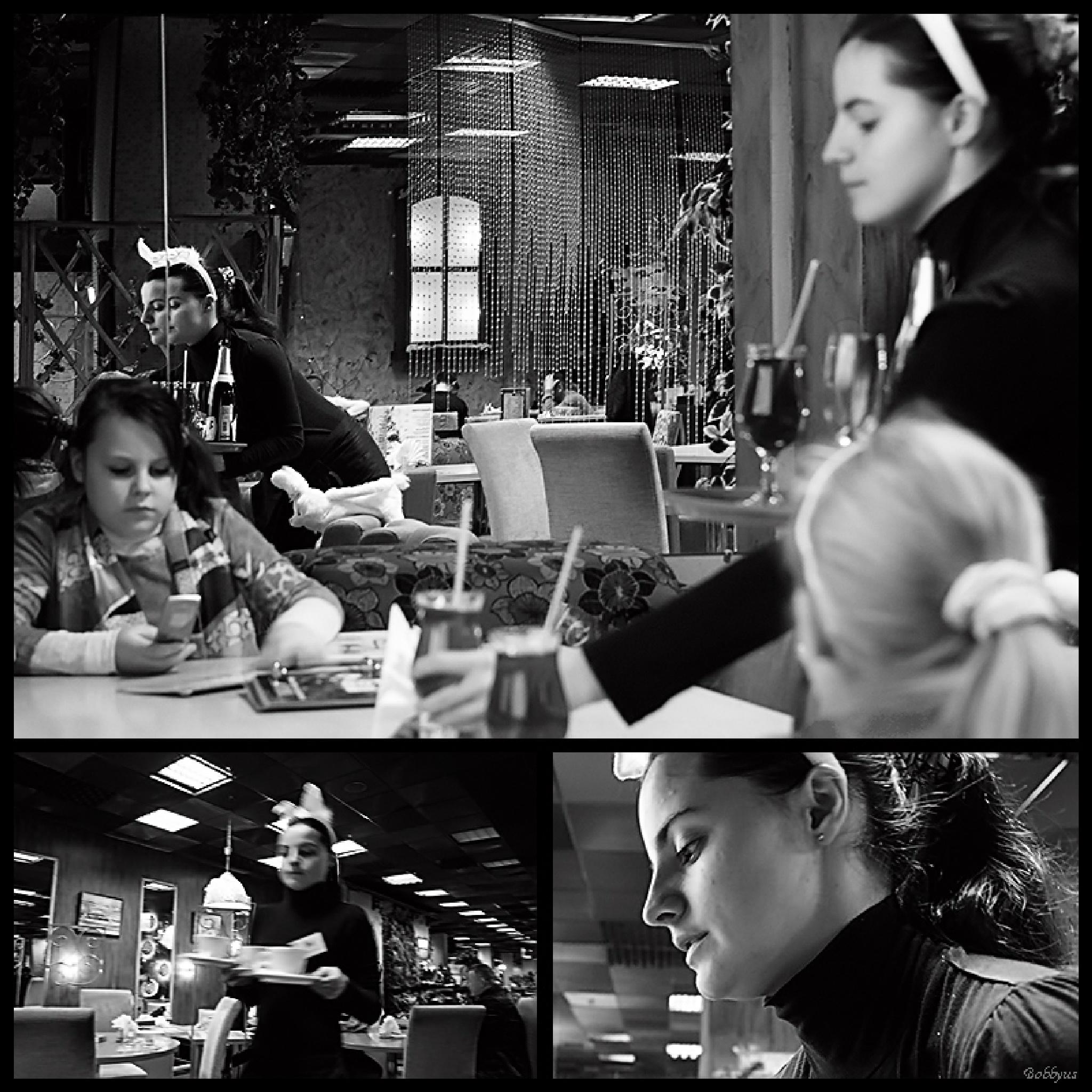 Waitress by Bobbyus