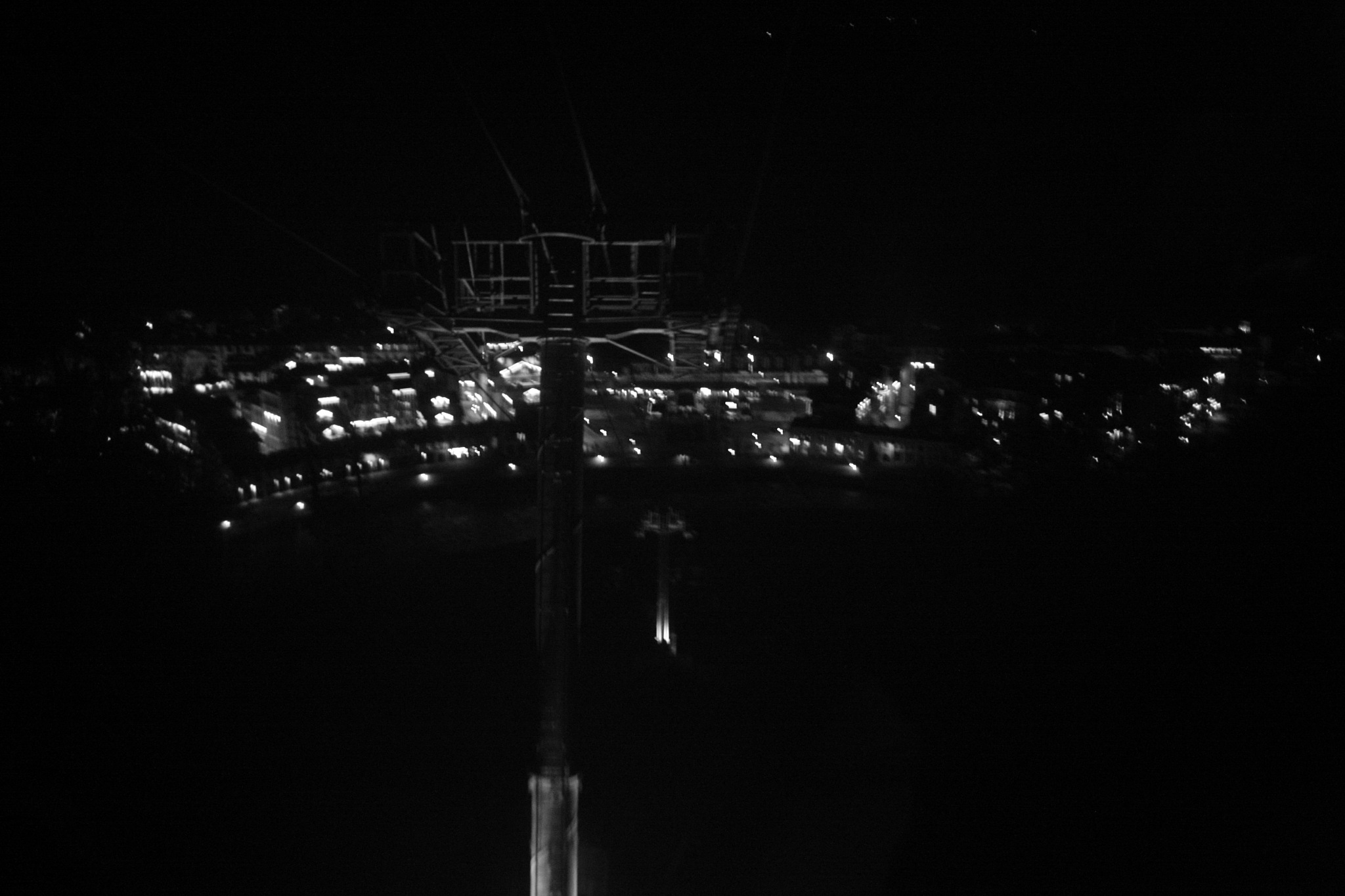 Night cable car.4 by Bobbyus
