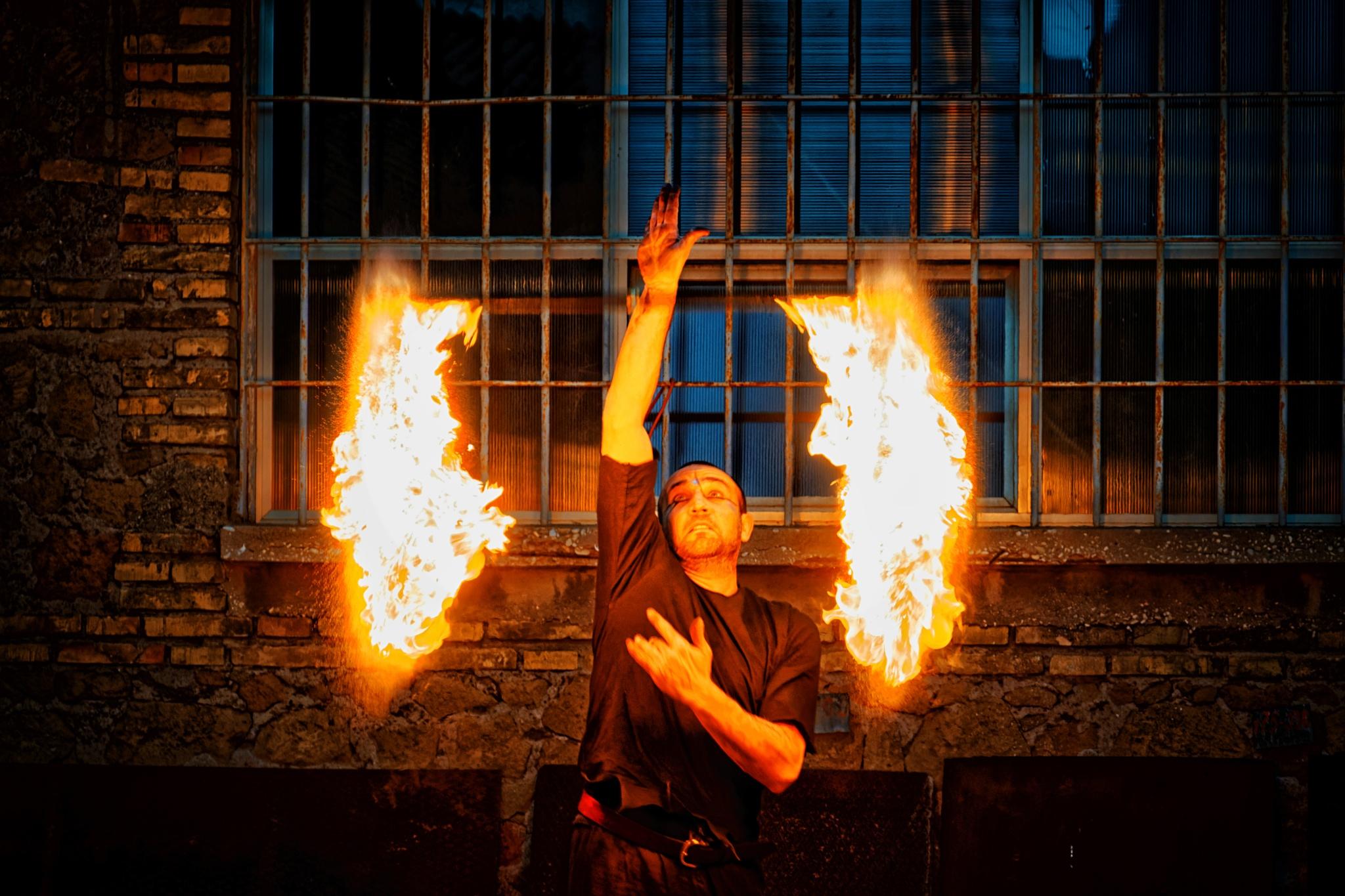 Lucignolo Fire Session 3 by Roberto Scordino