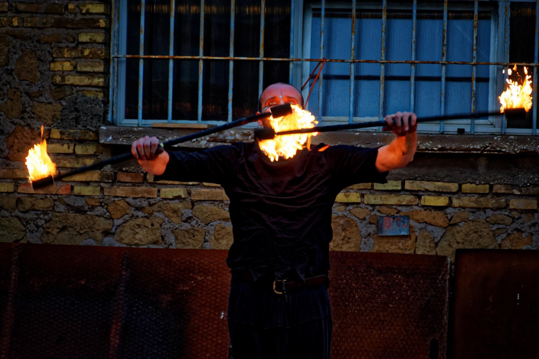 Lucignolo Fire Session 1 by Roberto Scordino