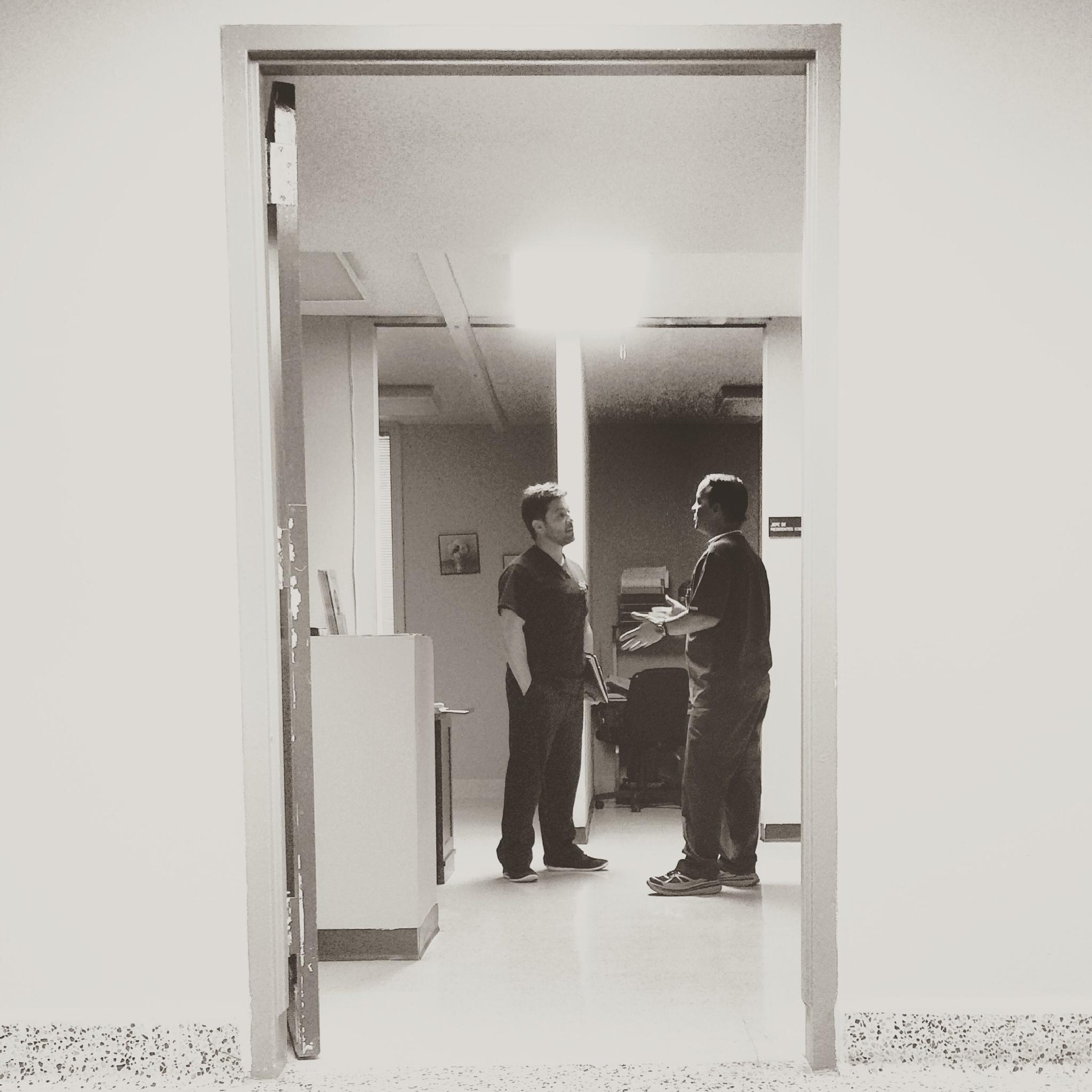 Doctors talking by Nilda64pr