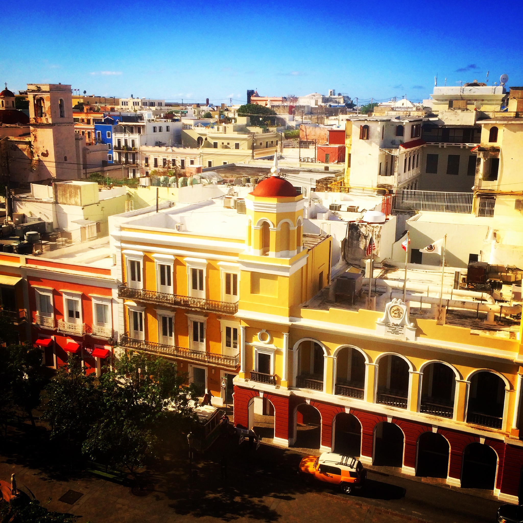El Viejo San Juan by Nilda64pr