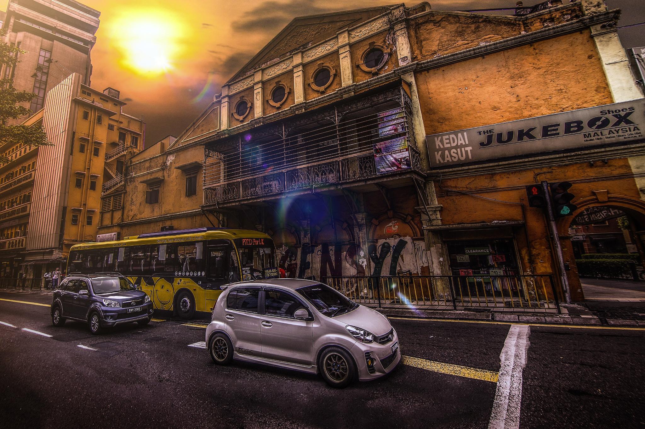 Petaling Street by Qasem El Akhdar
