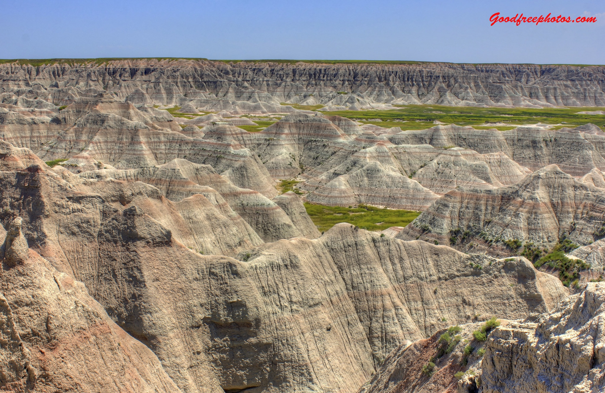 Landscape of the Badlands by Archbob