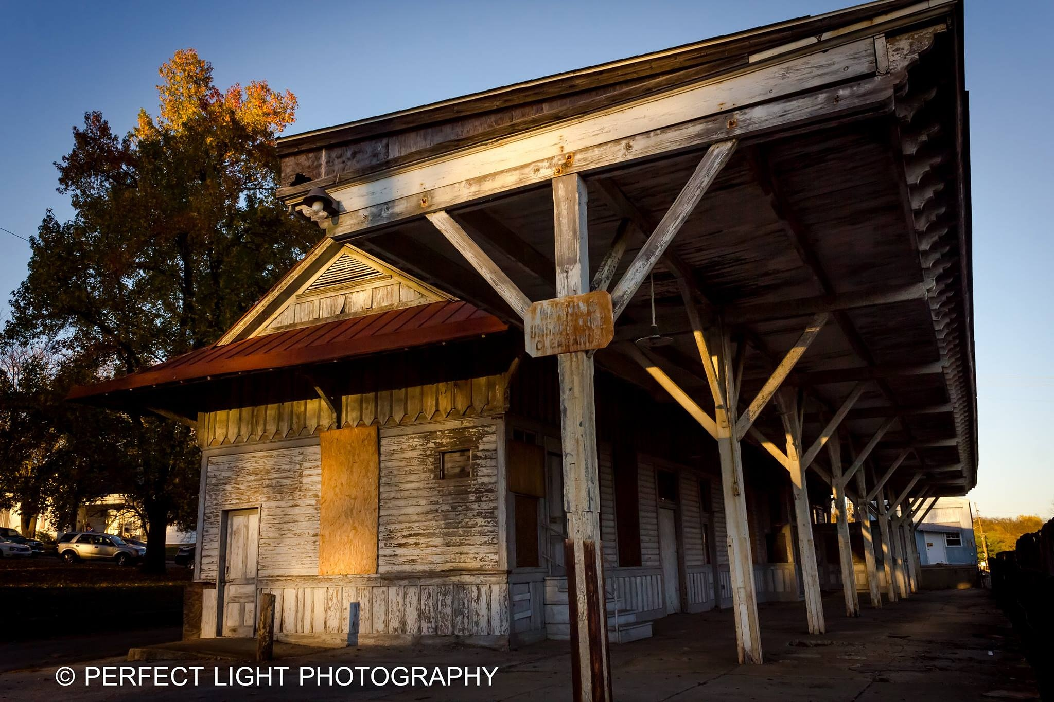 Abandoned Freight Depot, Paris, KY by Perfect Light Photography