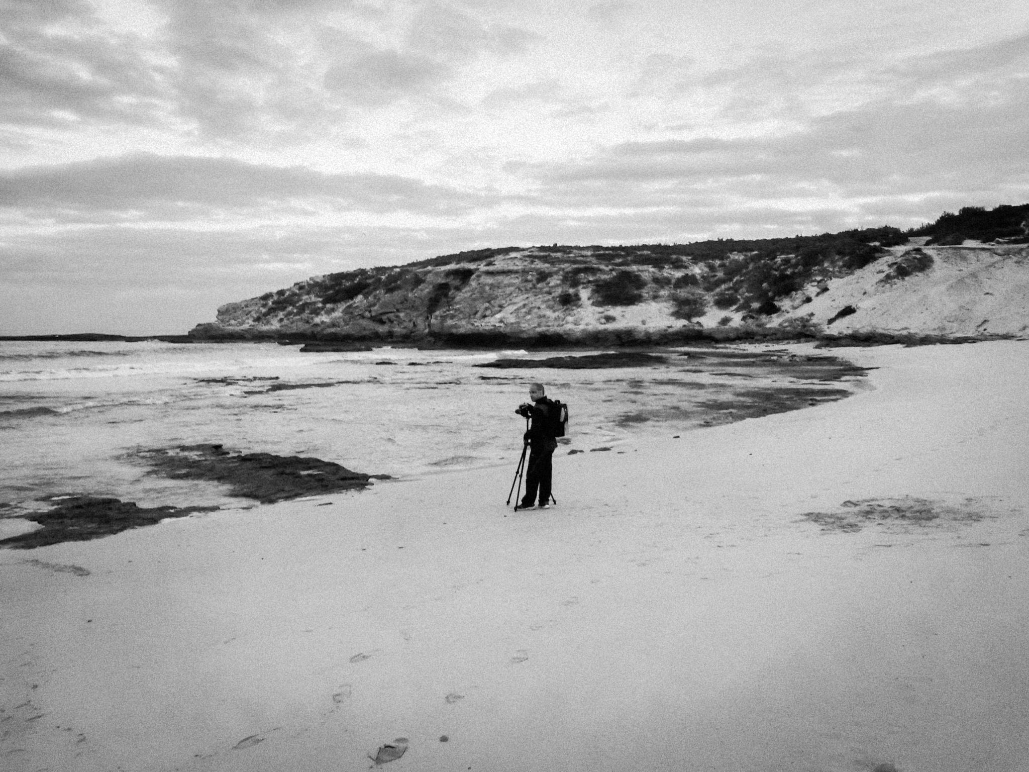 Me at the Beach by Ryan Veldsman