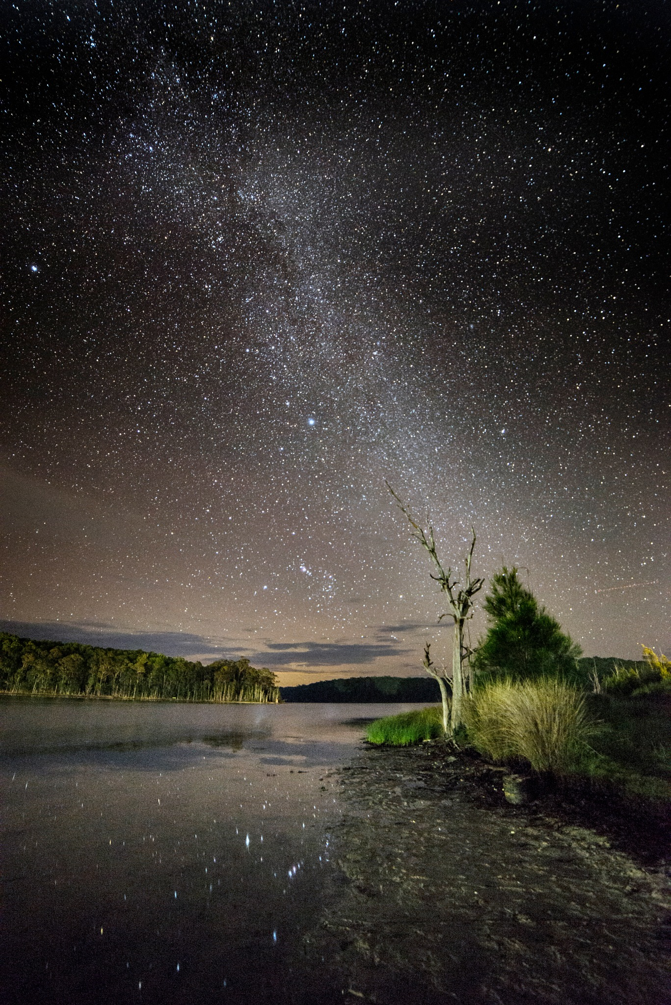Paradise of Lake and Stars by Graham Levi