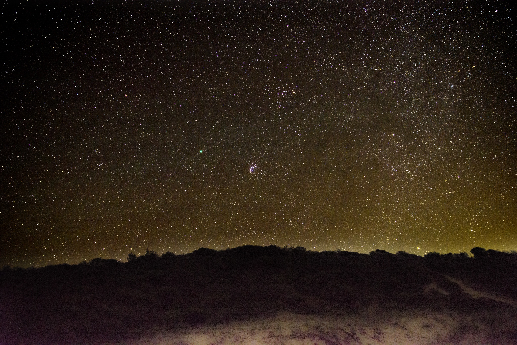The amazing galaxy from an Australian Beach by Graham Levi