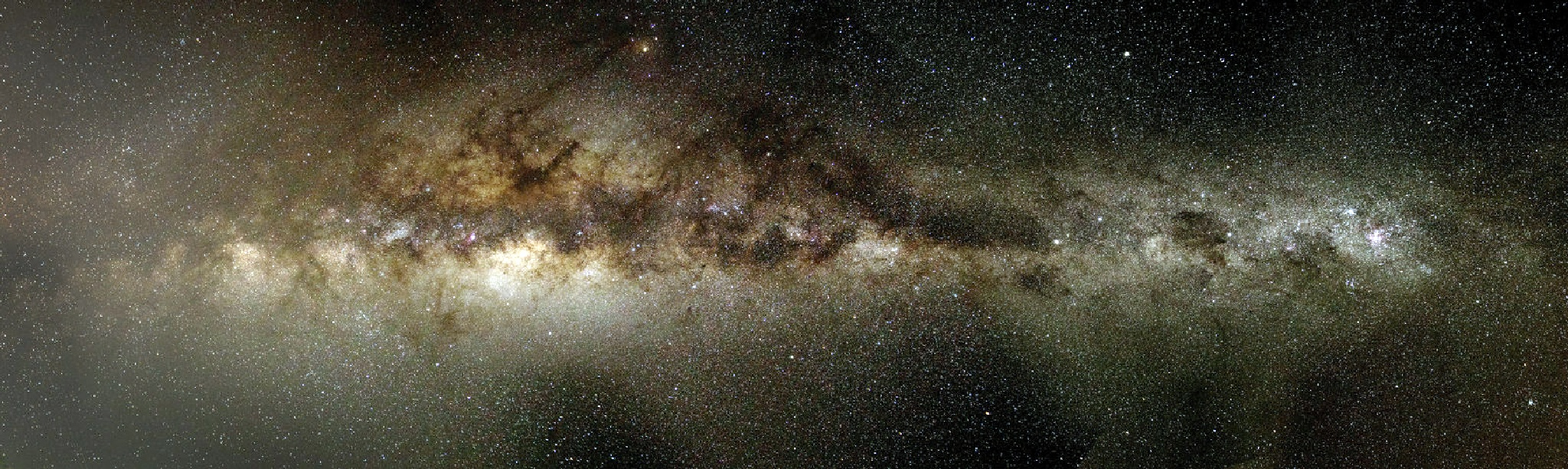 Milky way from the Southern Hemisphere by Graham Levi