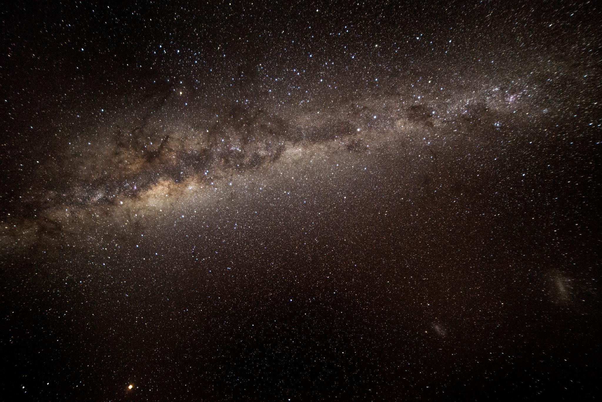 The Milky Way from Pebbly Beach Australia 03 by Graham Levi