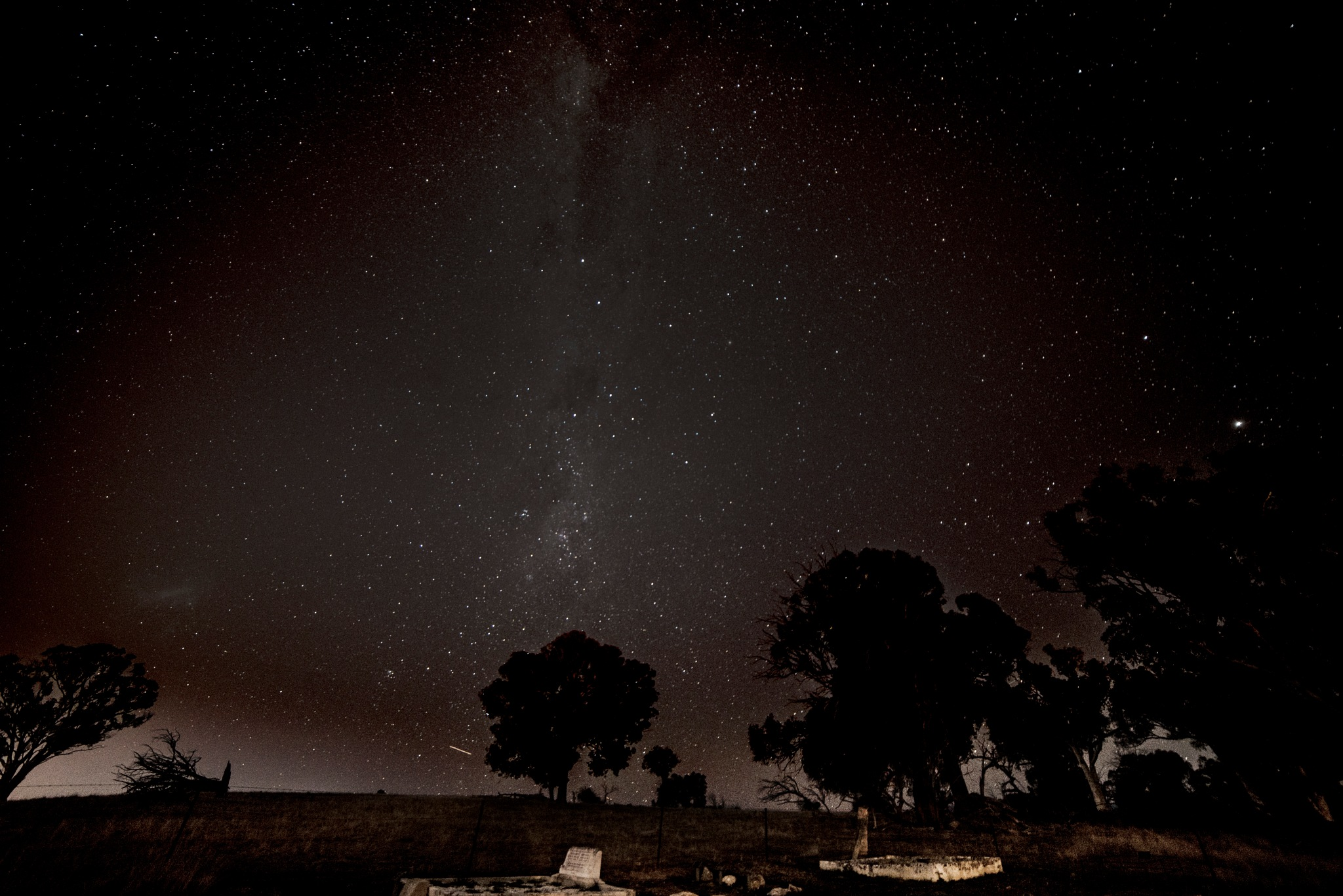 Graveyard Under the Stars by Graham Levi