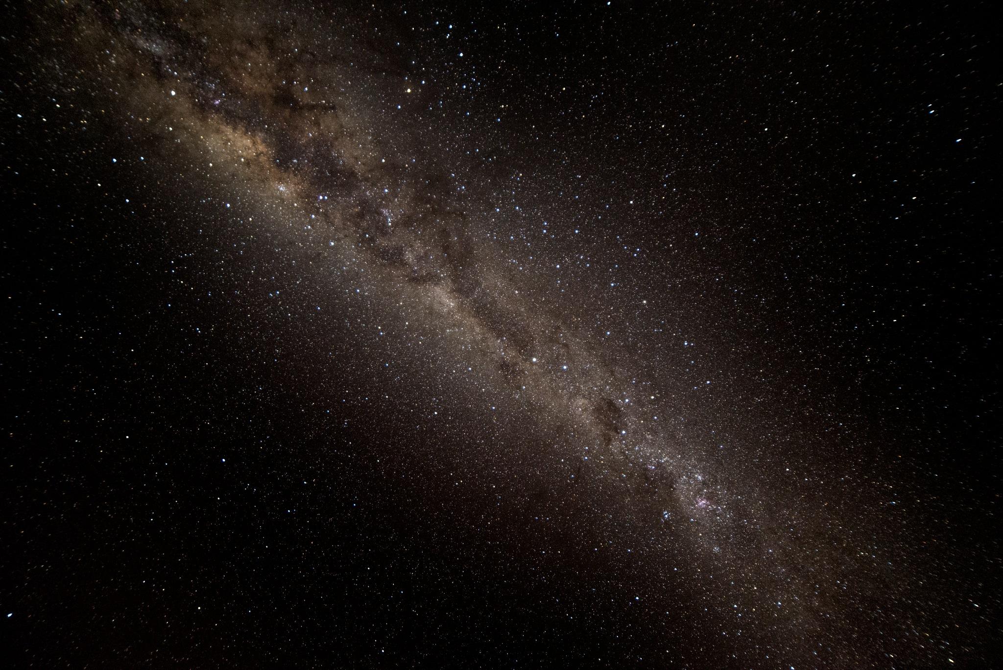 The Milky Way from Pebbly Beach Australia 02 by Graham Levi