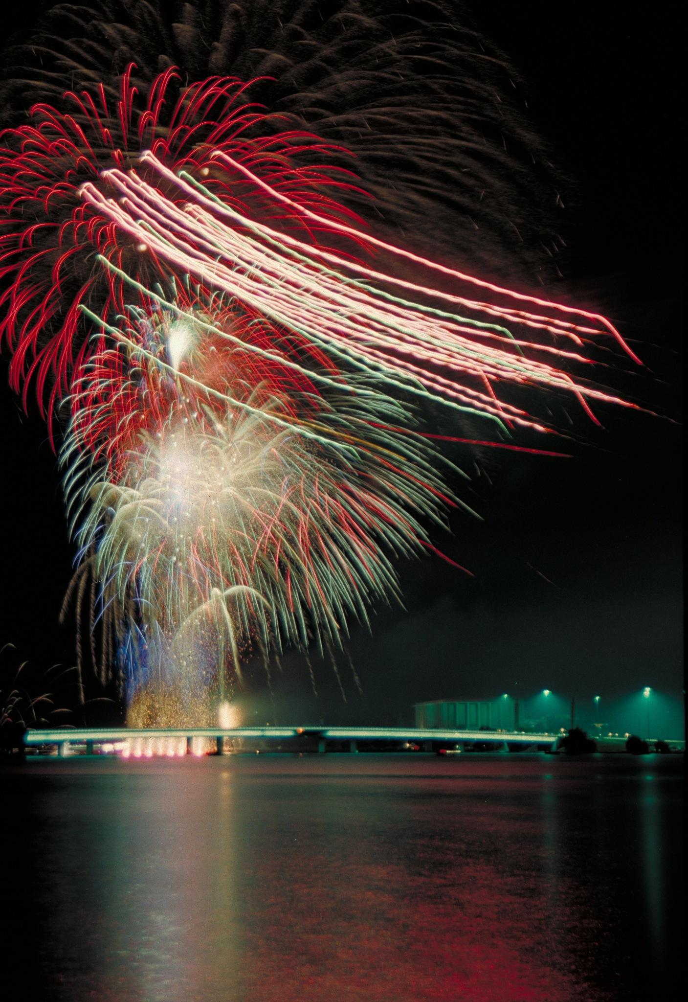 Photo in Random #fireworks #lake #new years