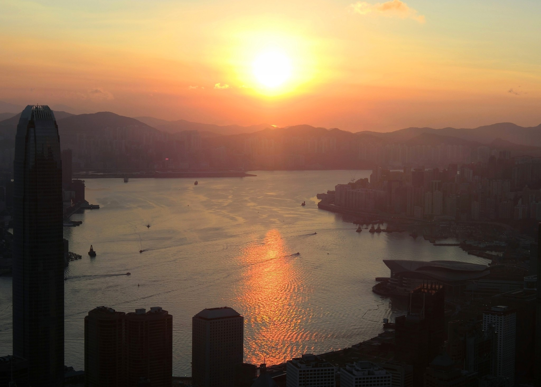 Sunrise, HK-7 by pop88123