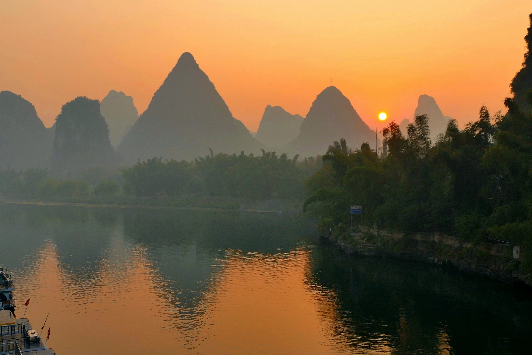 Li River at dawn-6 by pop88123