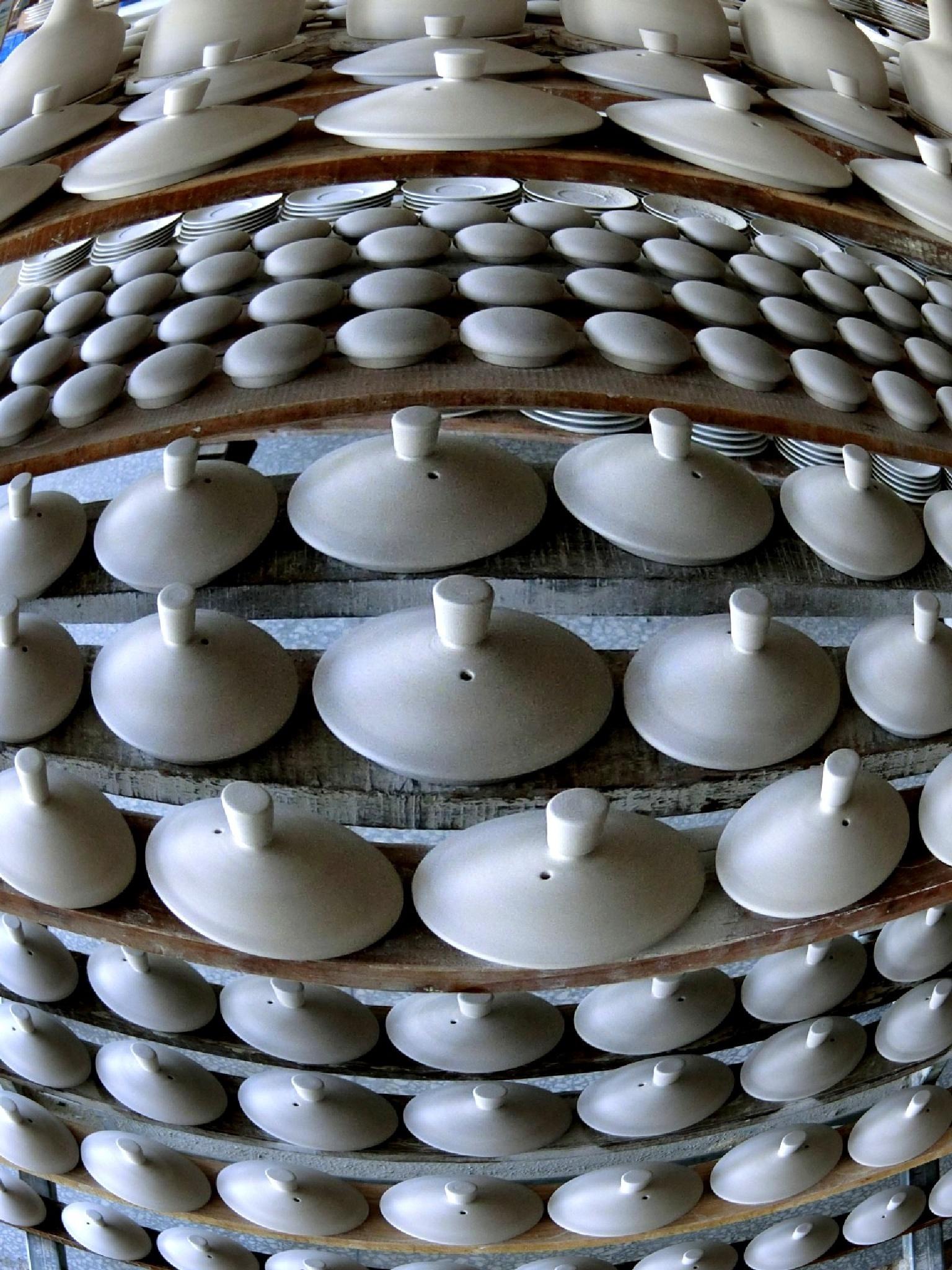 Pottery factory, Jingdezhen, Jiangxi by pop88123