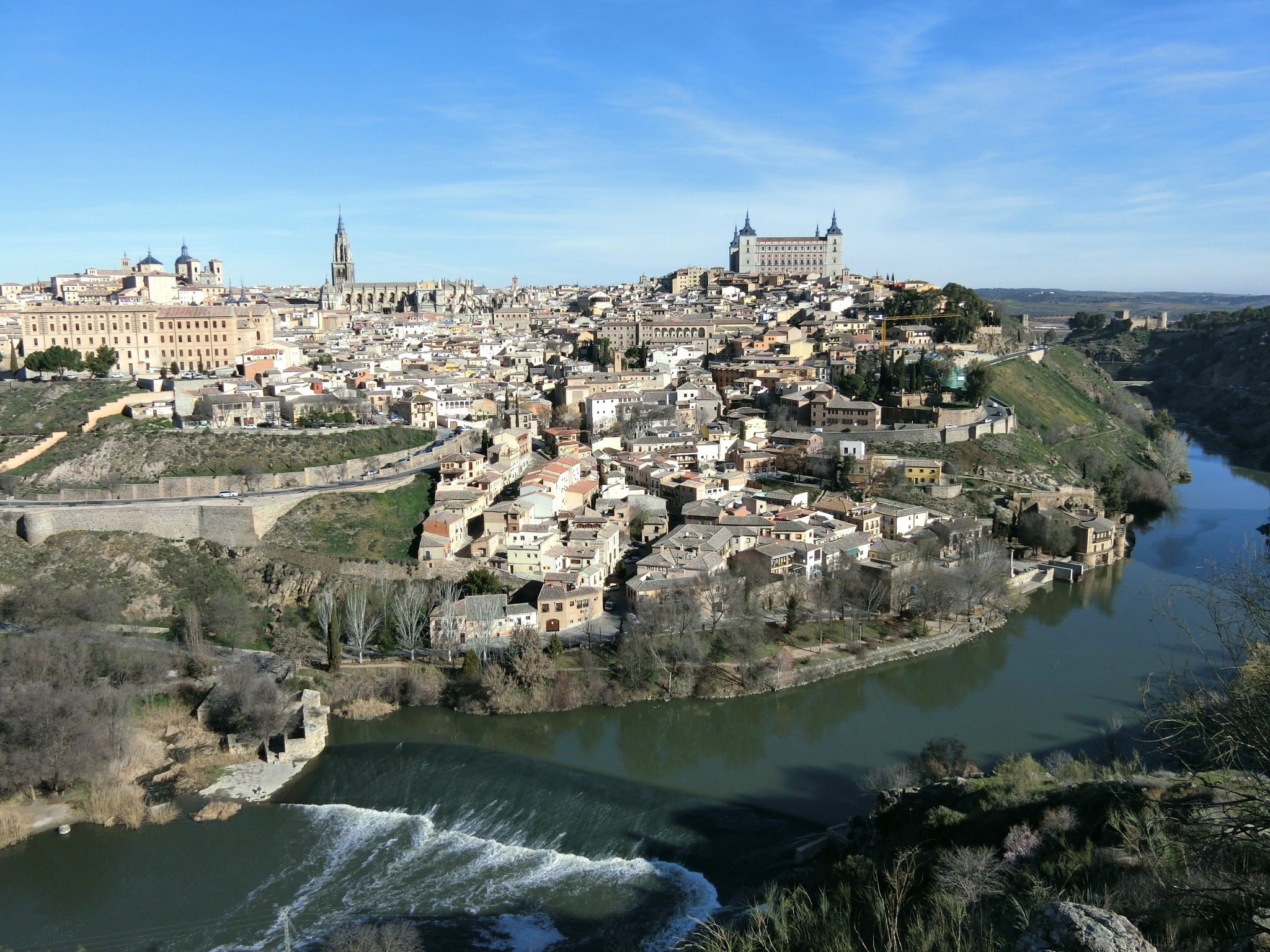 Old town of Toledo, Madrid by pop88123