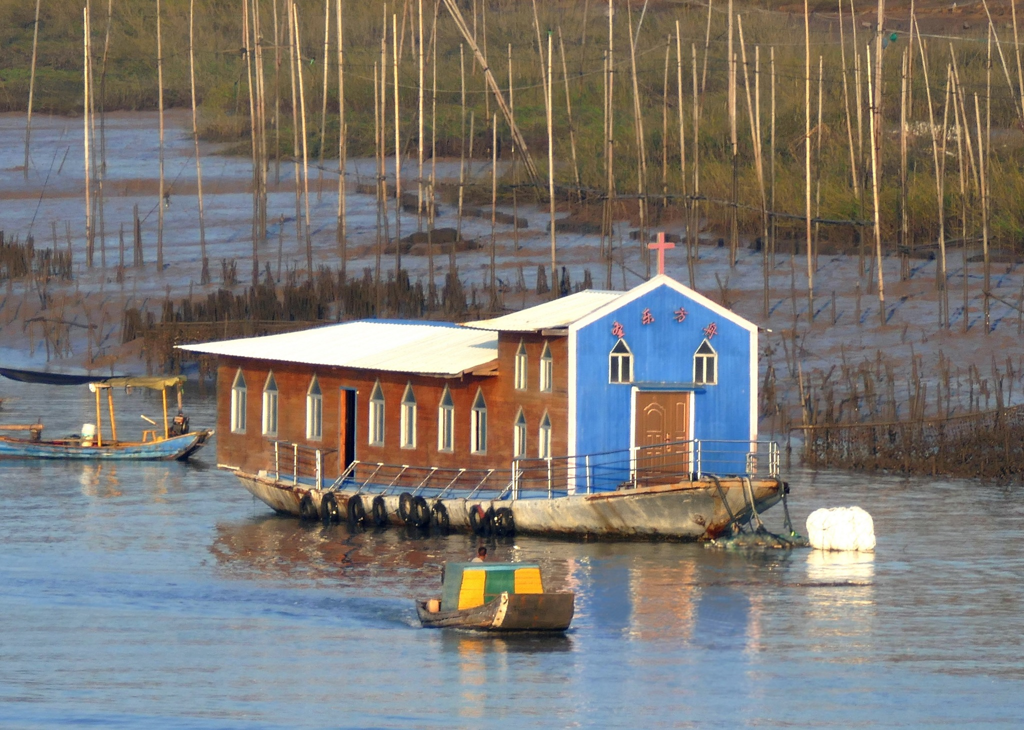 Fishing village, Xia Qing Shan-1 by pop88123