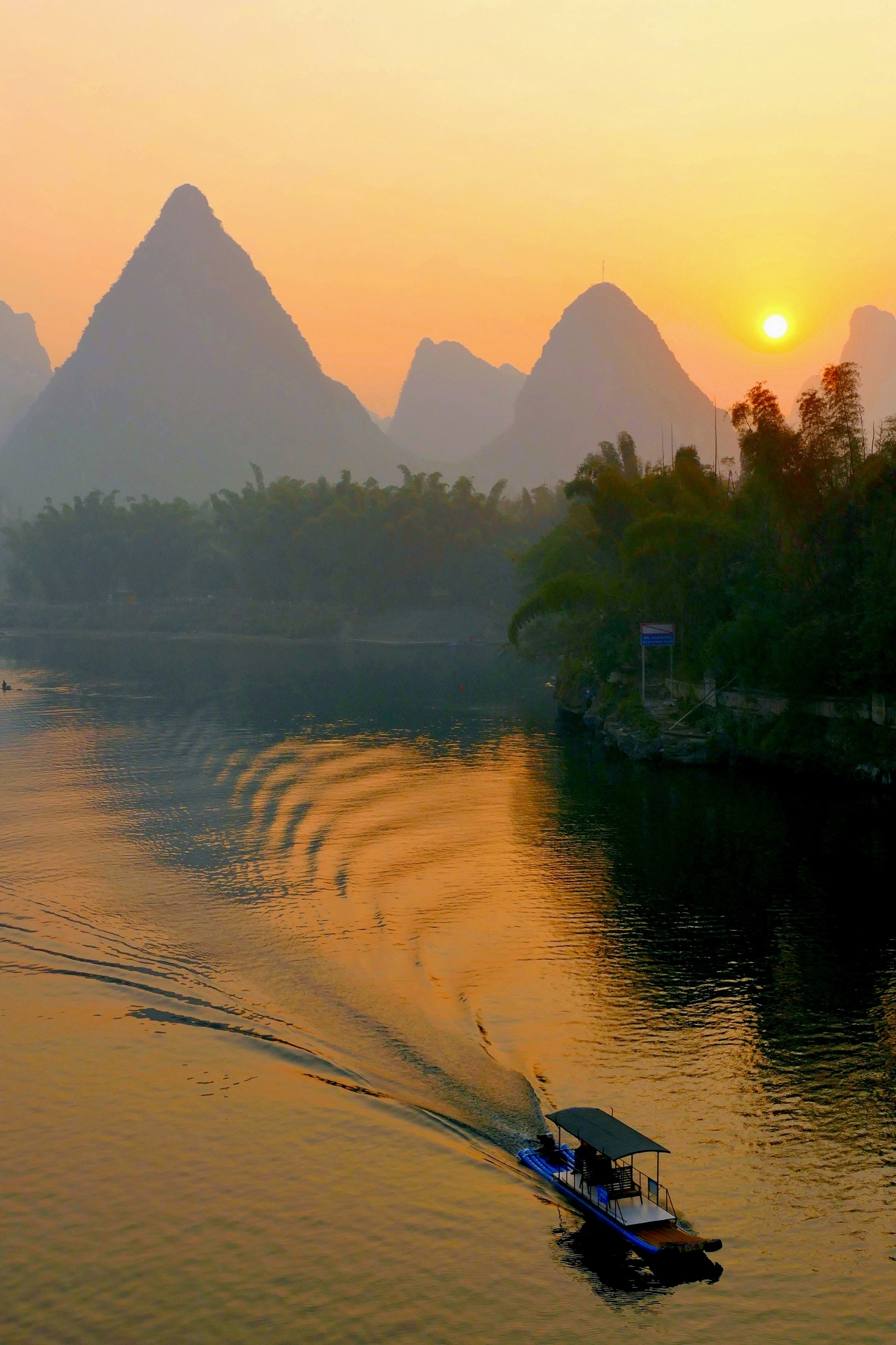 Li River at dawn-7 by pop88123