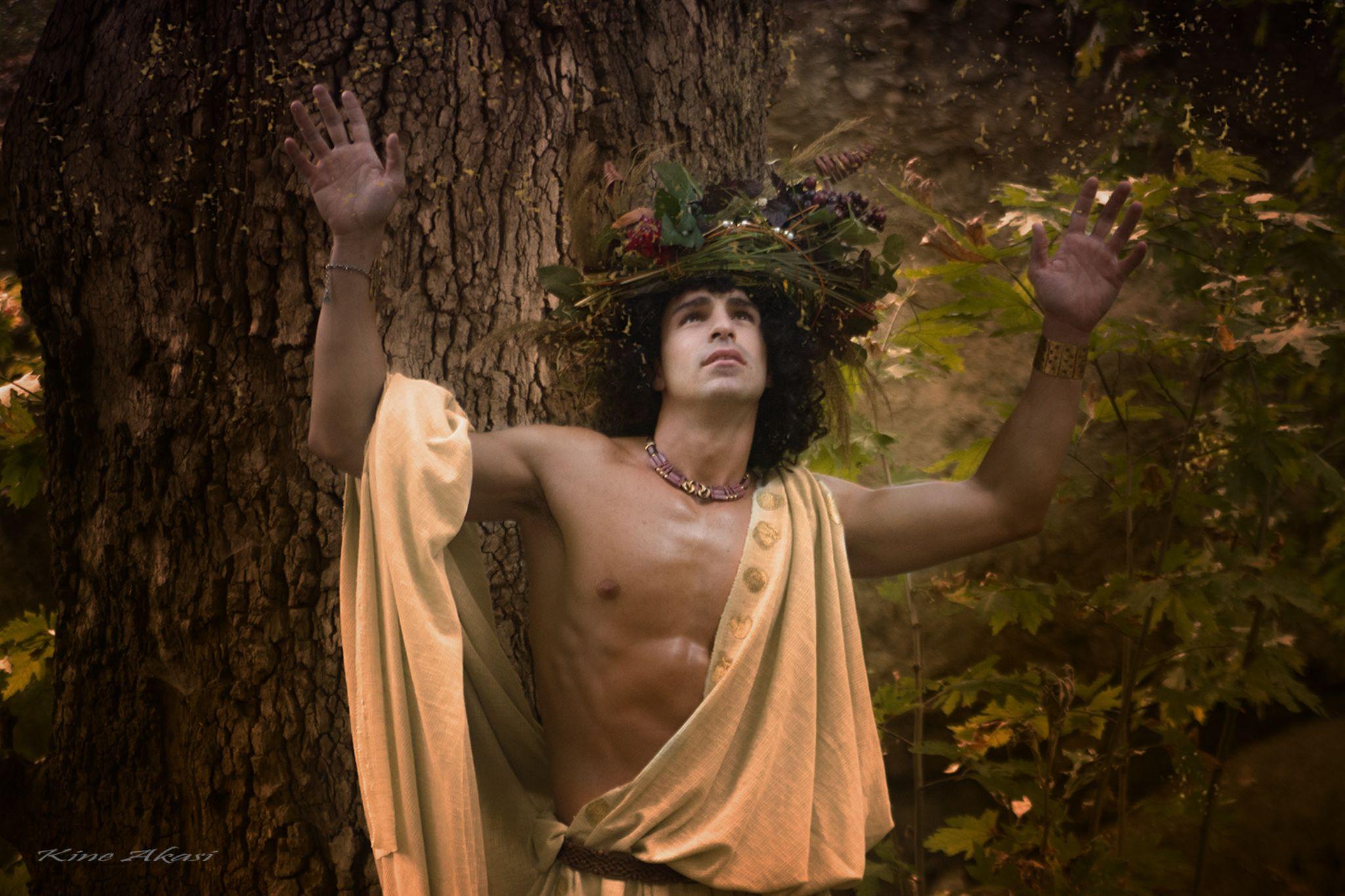 Dionysus by KineAkasi