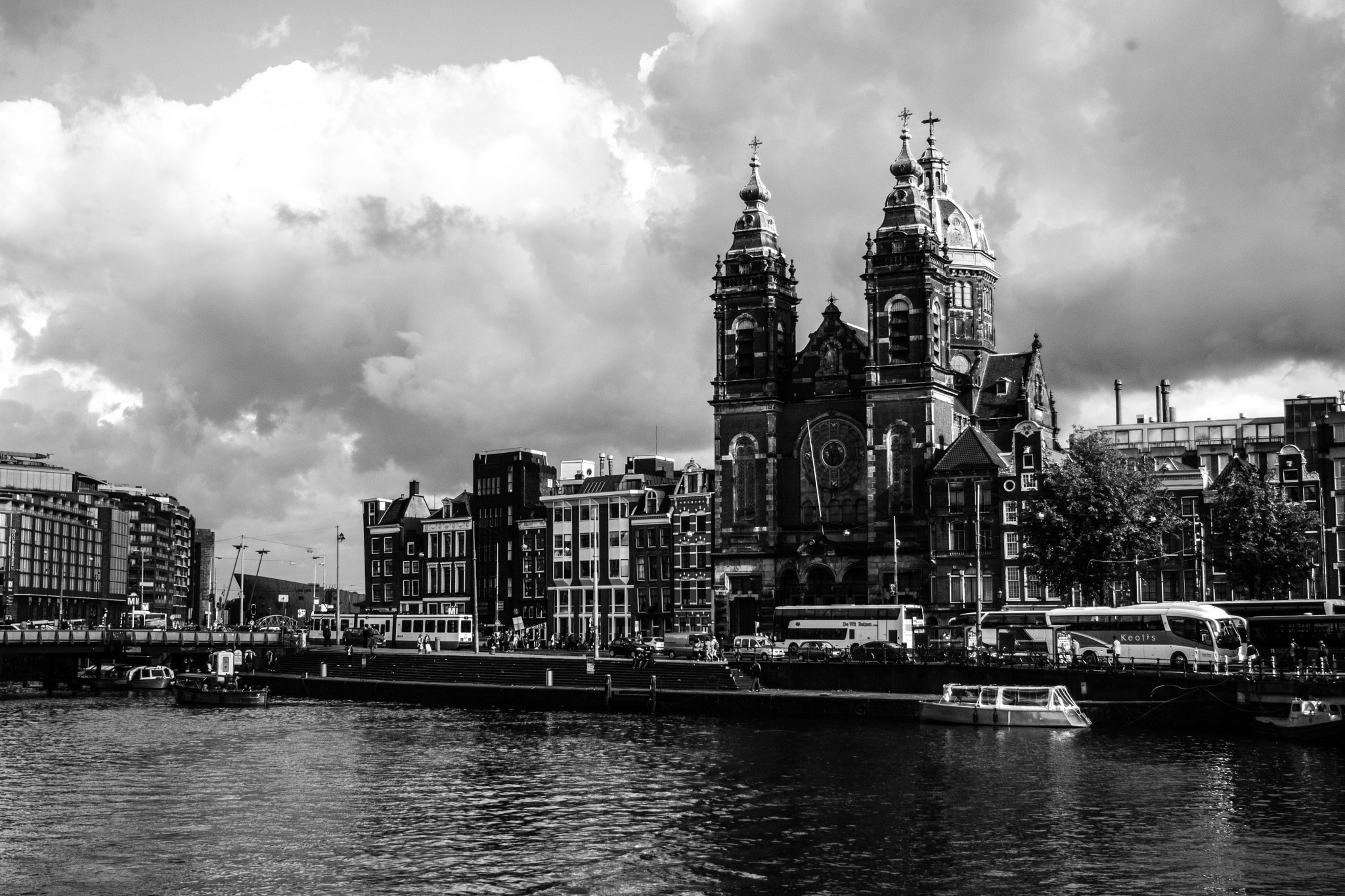 Amsterdam Churches by dduvall